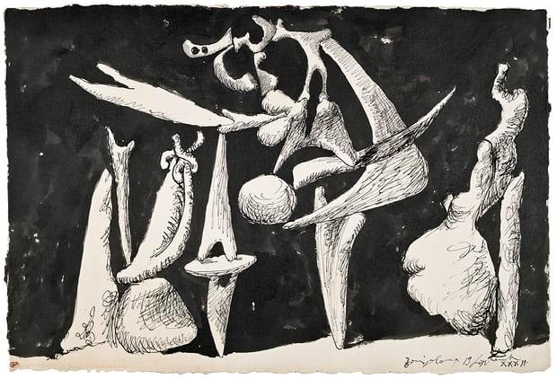 Picasso's  La Crucifixion , 1932