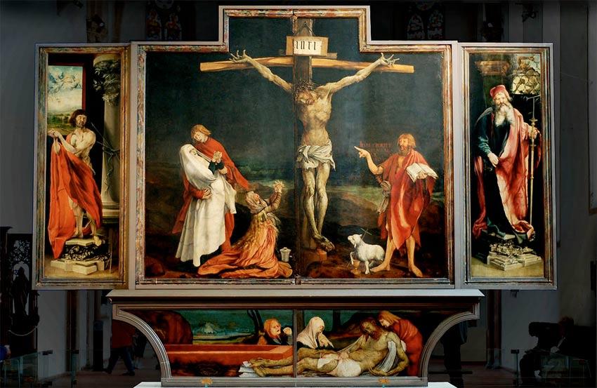 Matthias Grunewald's ' Isenheim Altarpiece ' (1512-6)