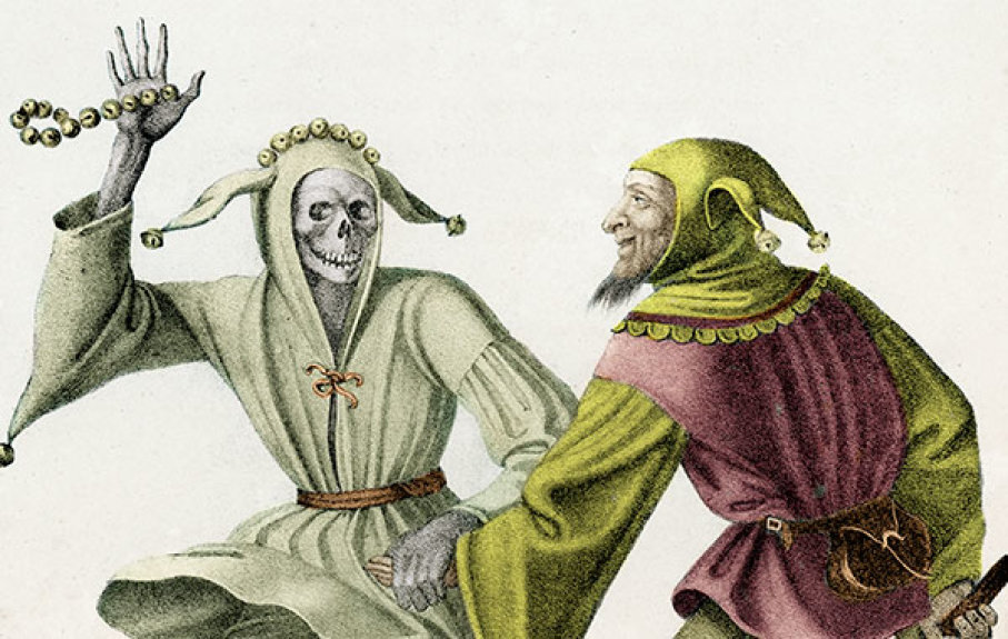 The Fool from the Dance of Death, Hieronymus Hess, c1845