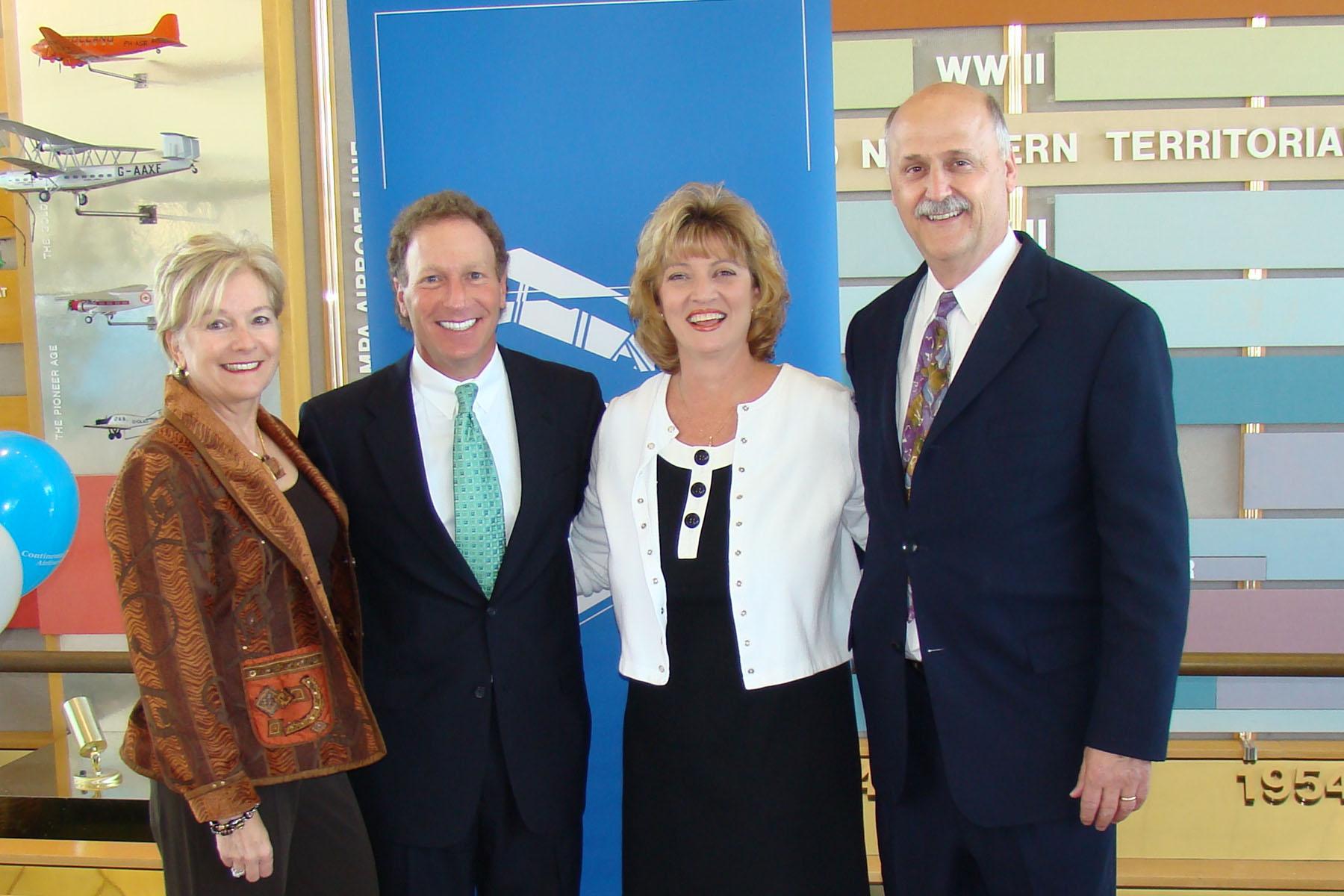 Bonnie Reitz, David Hilfamn, Colleen Picard & Rich Lisser @ SPMOH - 2, 27 Mar '08.jpg