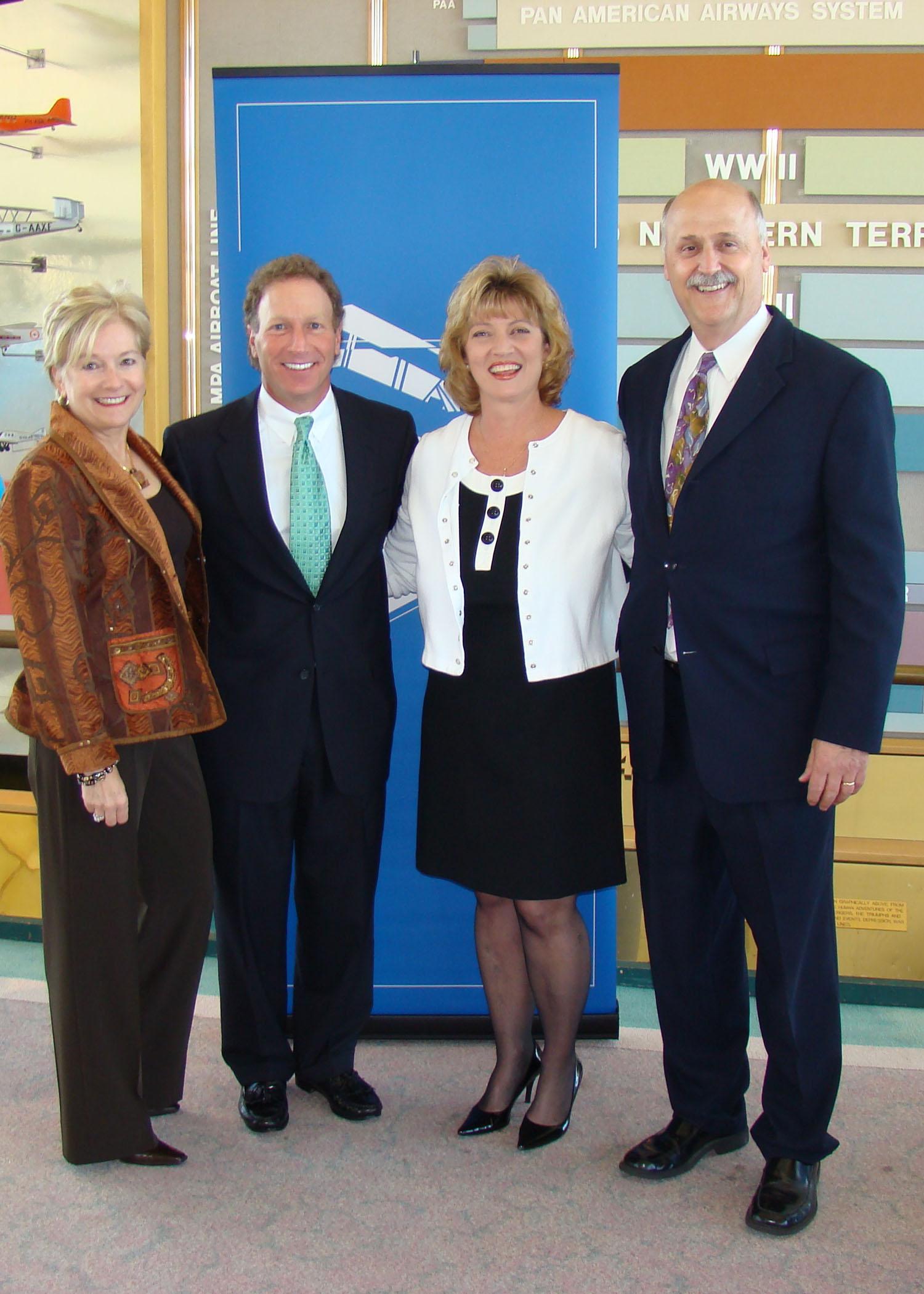 Bonnie Reitz, David Hilfman, Colleen Picard & Rich Lisser @ SPMOH - 1, 27 Mar '08.jpg