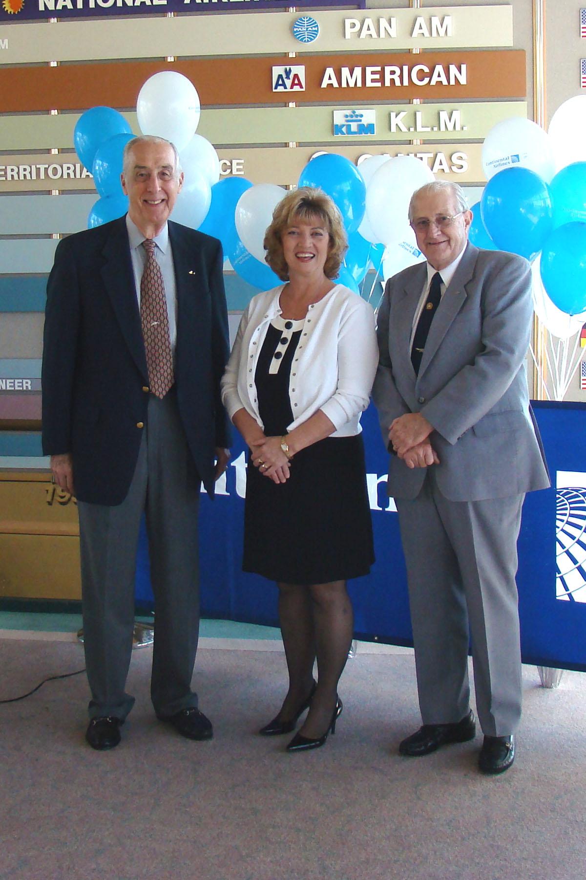 Dick Newton, Colleen Picard & Col. Joe Bullers @ SPMOH - 1, 27 Mar '08.jpg