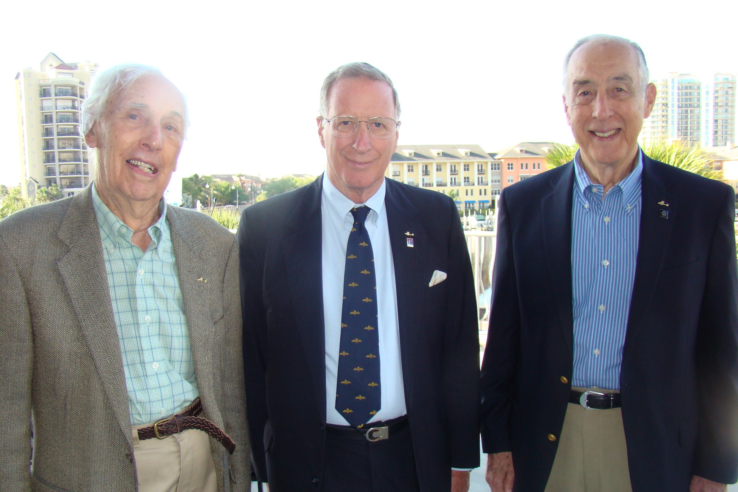 Bill Krusen, Colin Howgill & Dick Newton, 13 Apr '11.JPG