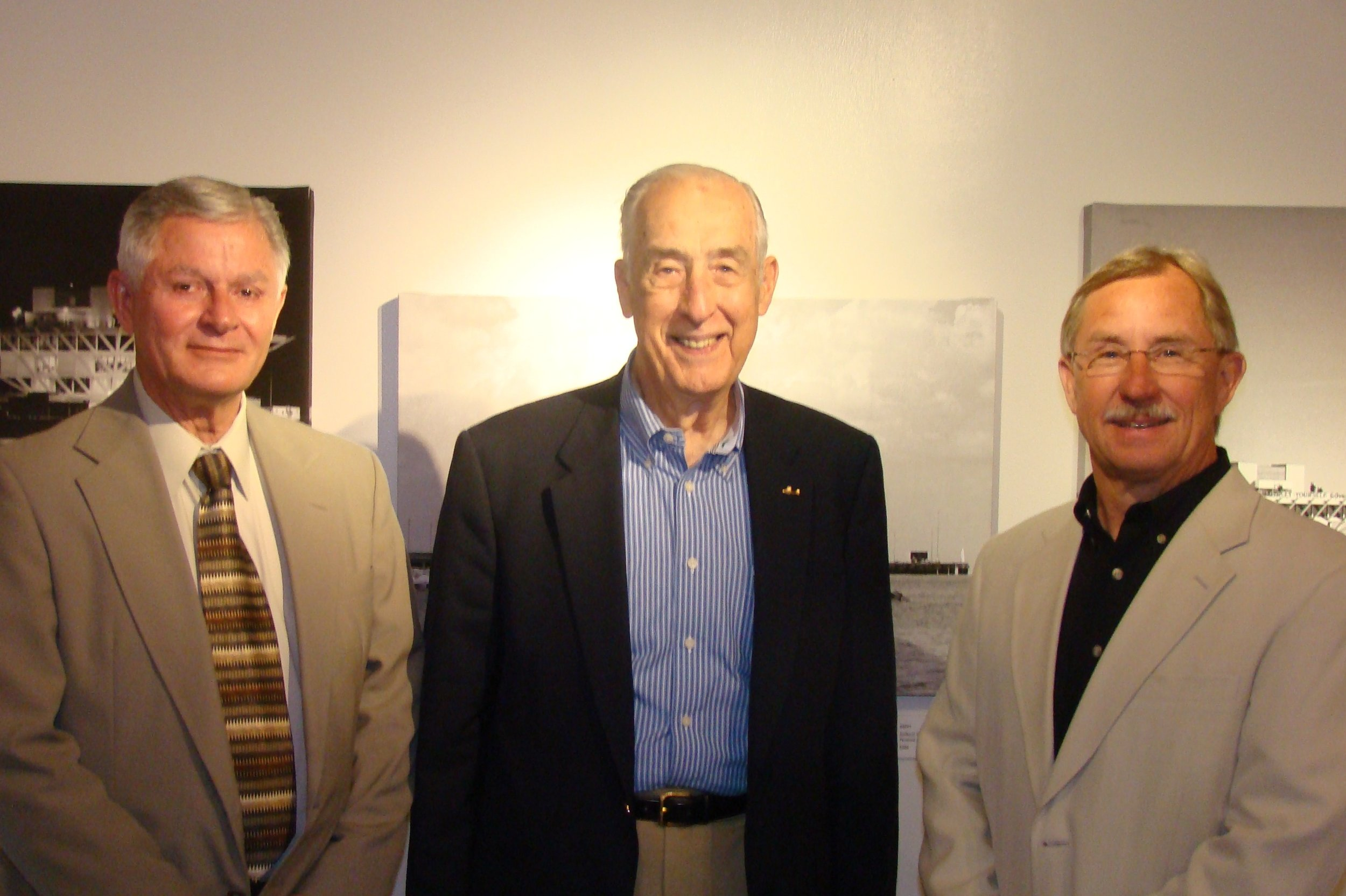 Bob Knight, Dick Newton & John Leenhouts - 1, 14 Mar '12.JPG