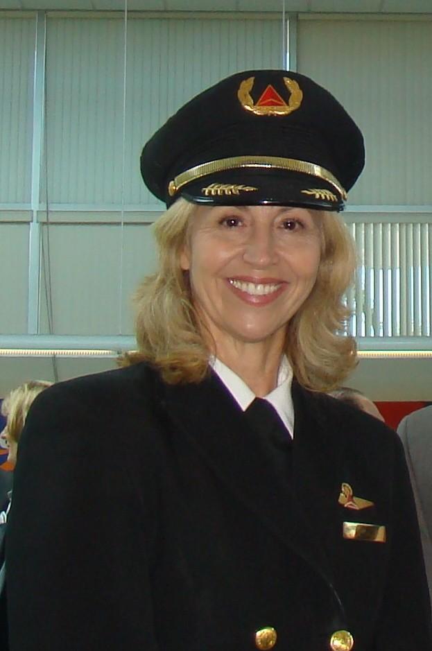 Captain Christina Halli @ PIE Press Conference, 24 Apr '13.JPG