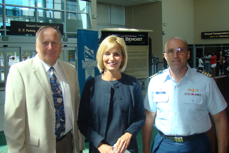 Marty Post, Allison Ausband & John Turner @ PIE Press Conference, 24 Apr '13.JPG