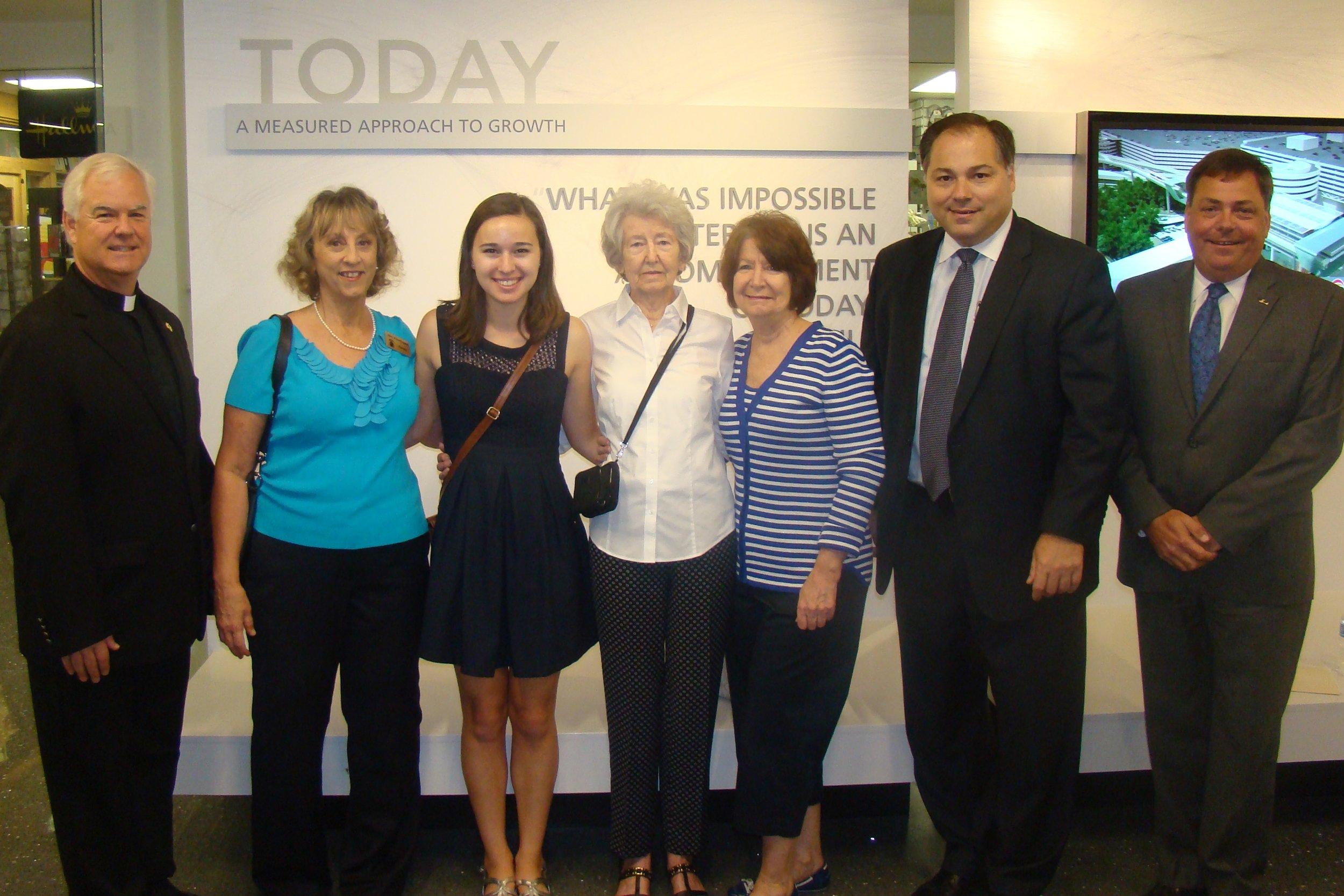 Brooke Papa, Essay Contest Winner, Family, et al - 3, 30 Oct '14.JPG