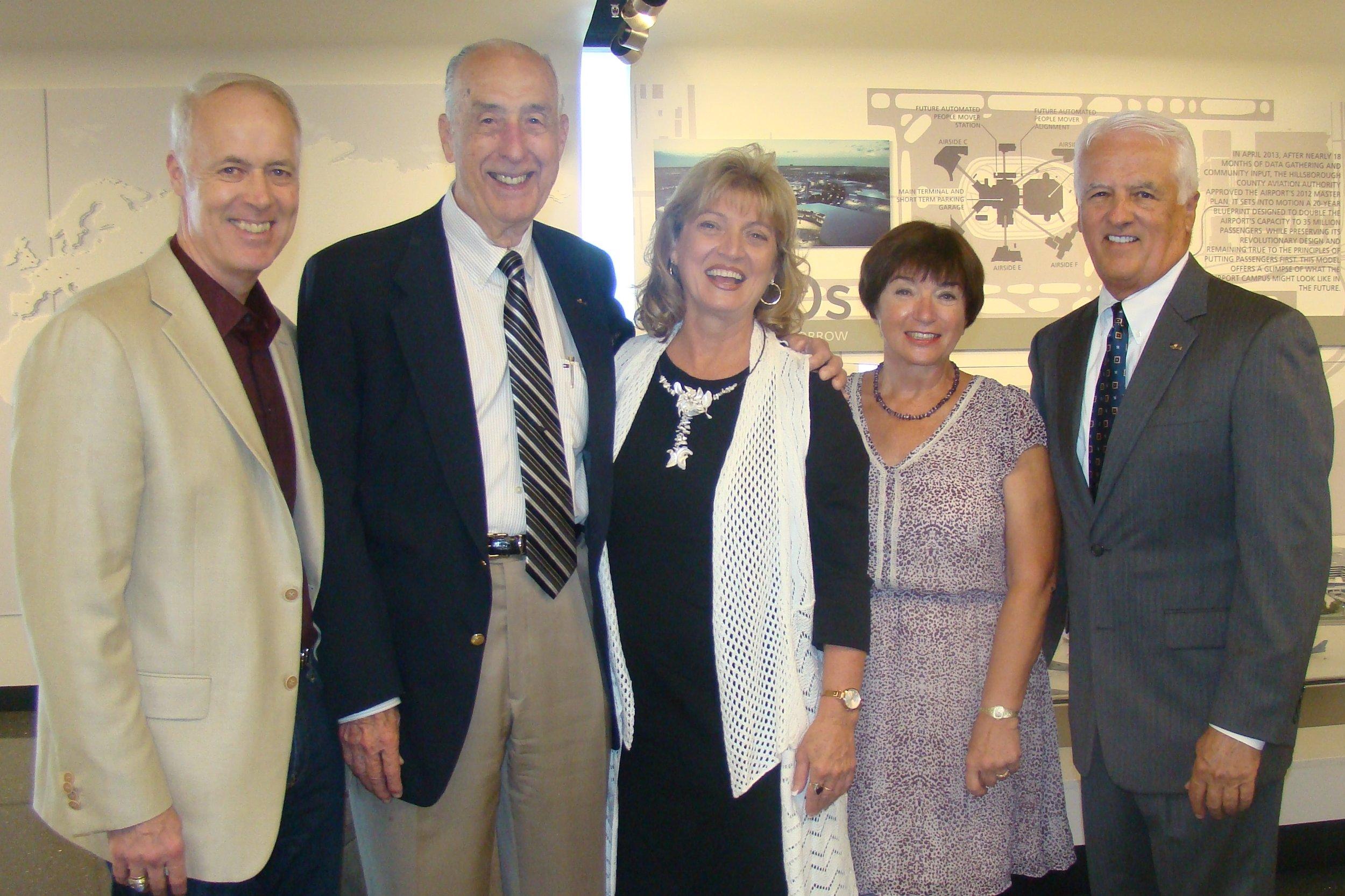 Dick, Me, Colleen Picard, Anne Menke & John O'Connor - 2, 30 Oct '14.JPG