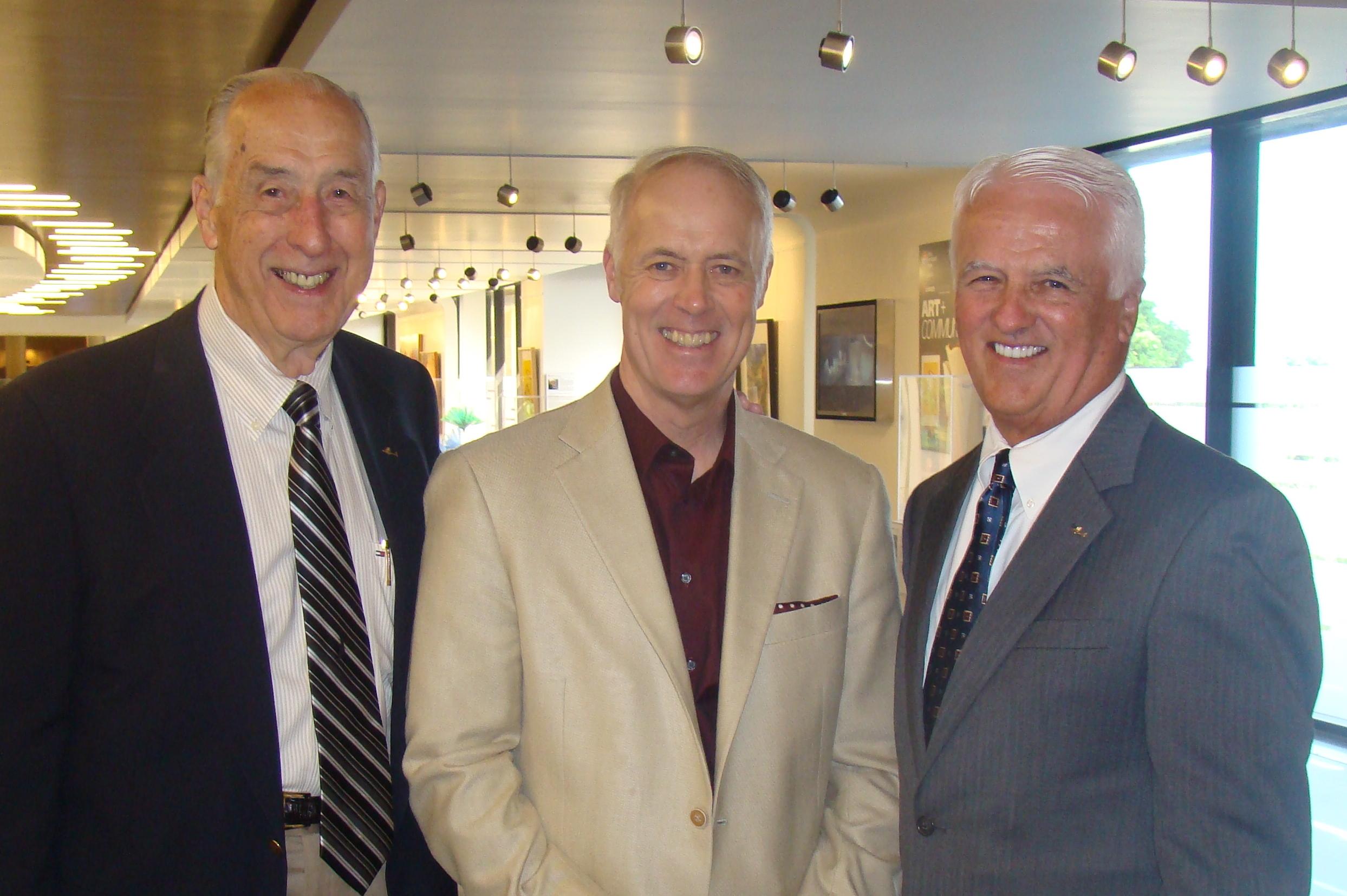 Me, Dick & John O'Connnor - 1, 30 Oct '14.JPG