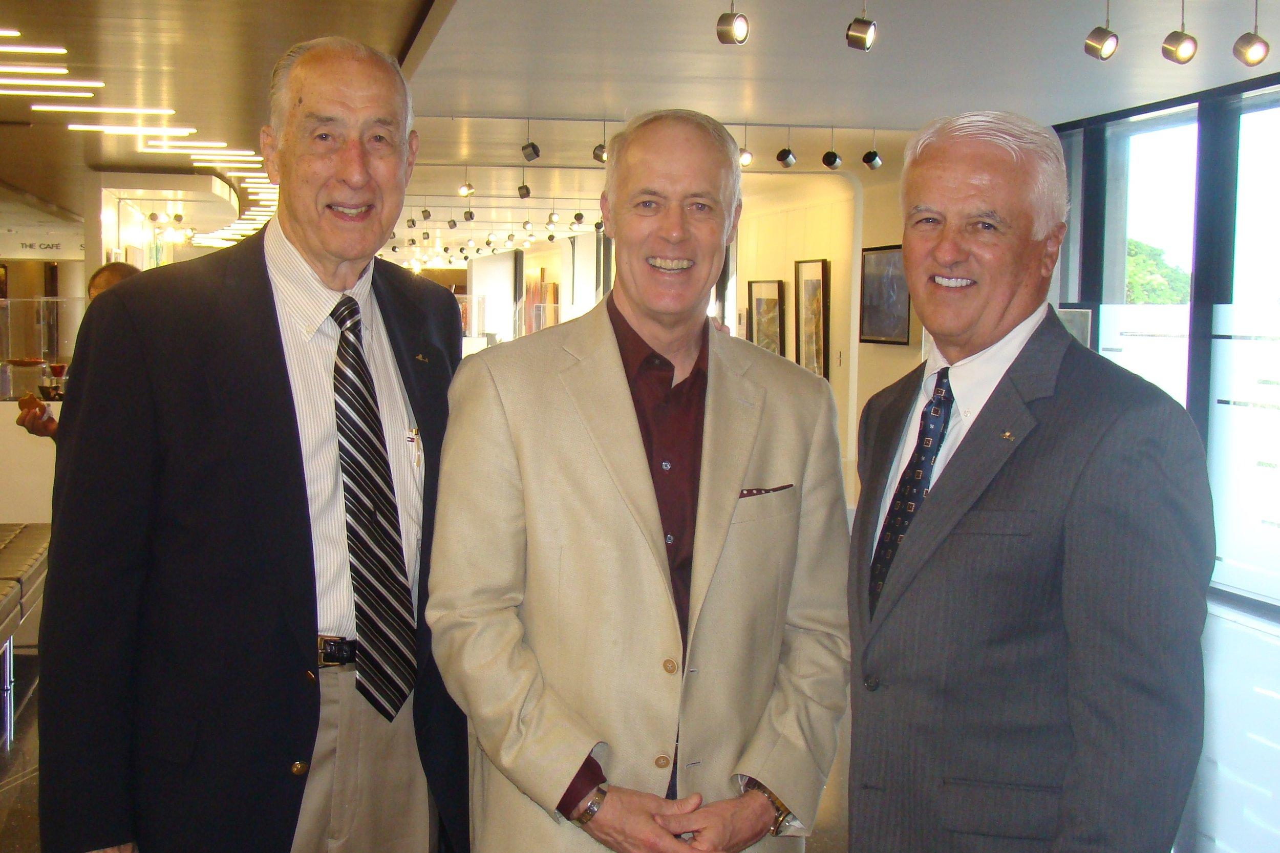 Me, Dick & John O'Connor - 2, 30 Oct '14.JPG