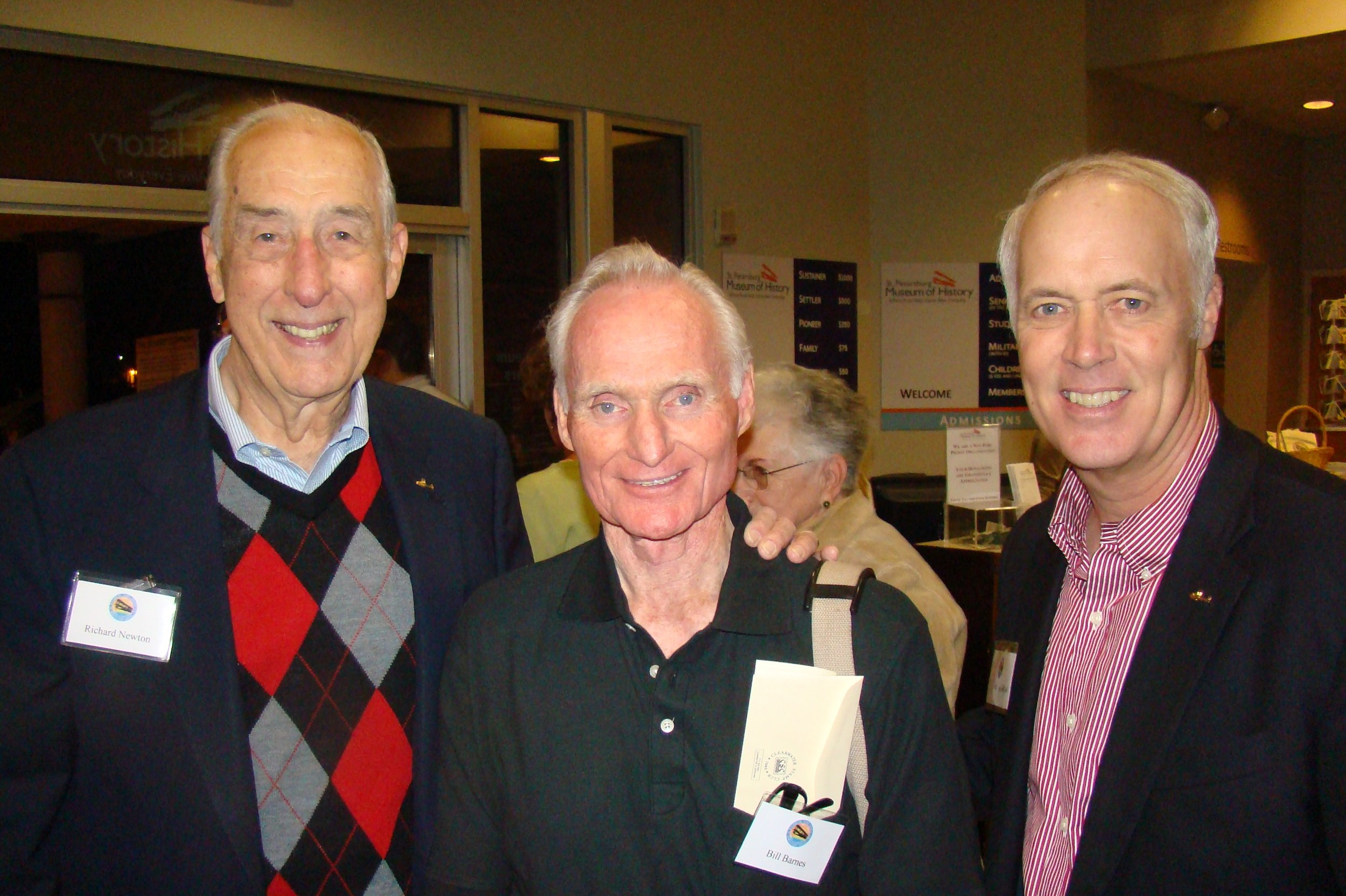 Dick Newton, Bill Barnes & Dick Newton, III, 31 Dec '13.JPG