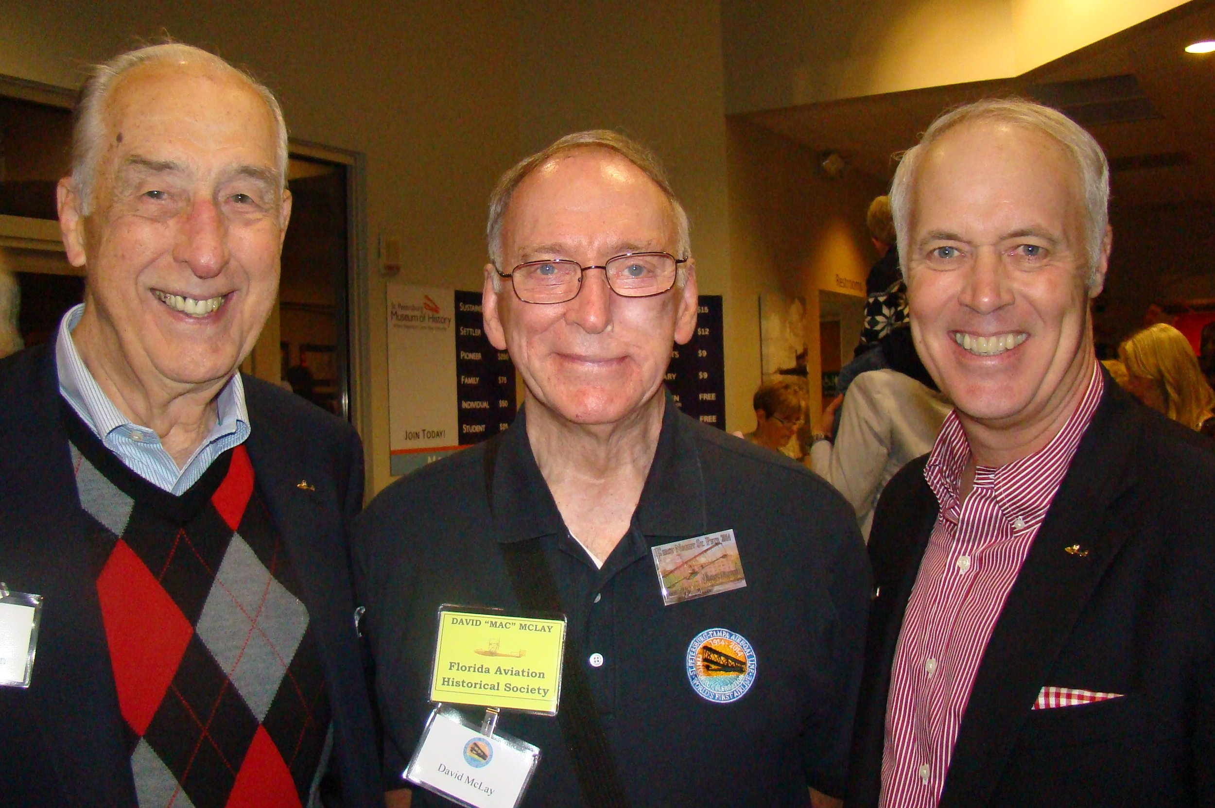 Dick Newton, David McLay & DIck Newton, III, 31 Dec '13.JPG