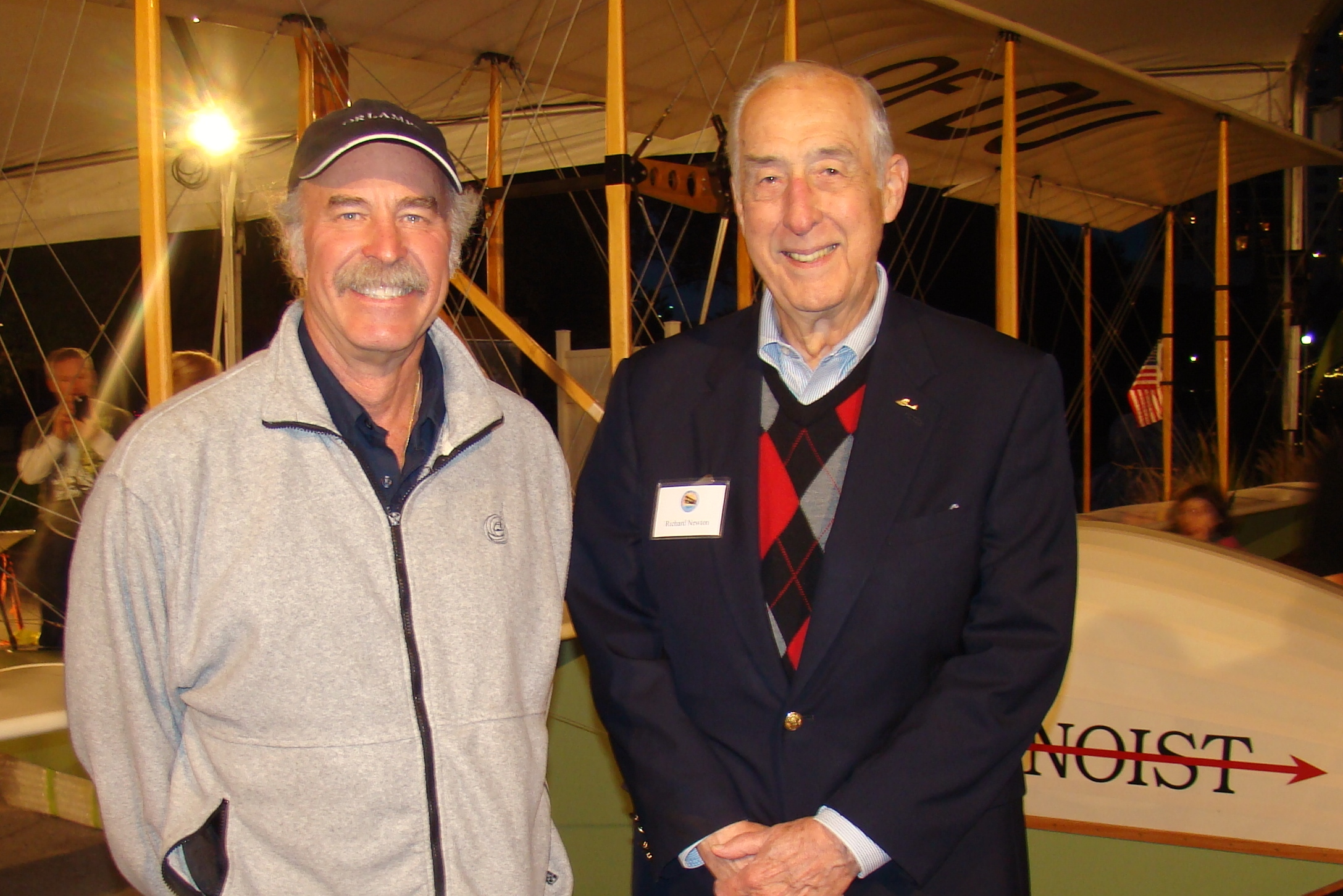Kermit Weeks & Dick Newton - 1, 31 Dec '13.JPG