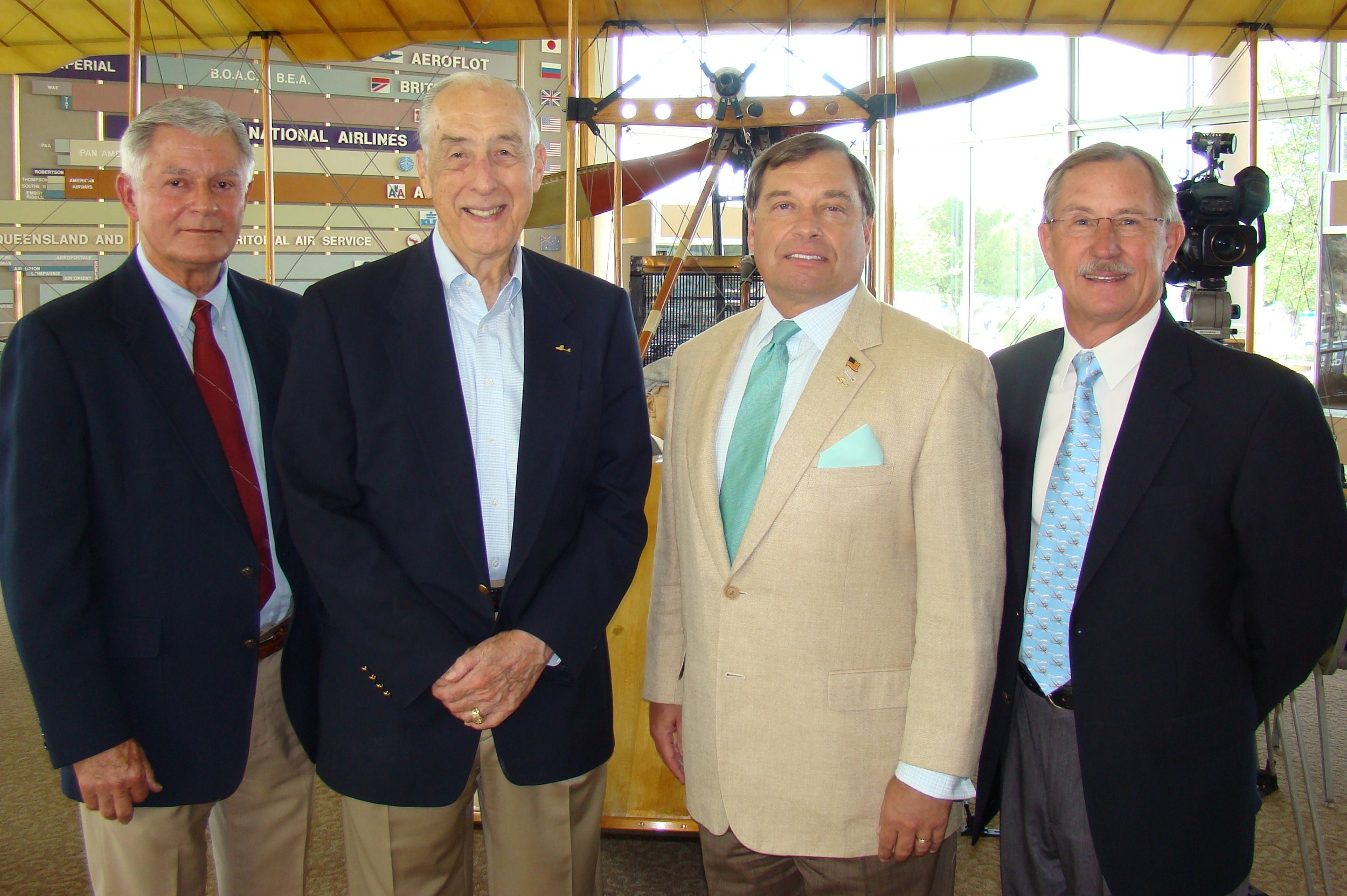 Bob Knight, Dick Newton, Tanker Snyder & John 'Lites' Leenhouts - 2, 14 Jun '12.JPG
