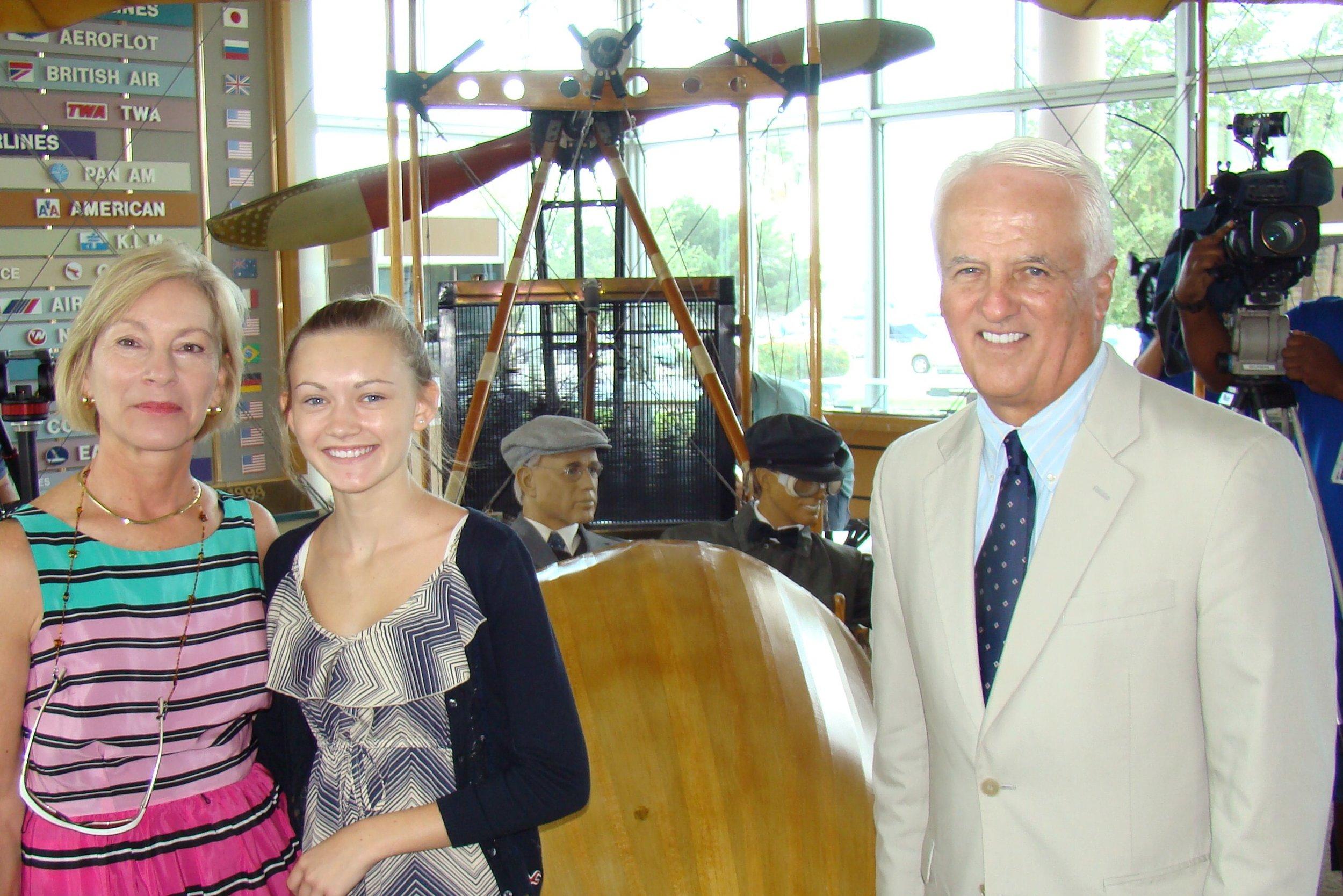 John & Rosie O'Connor with Rachael - 2, 14 Jun '12.JPG