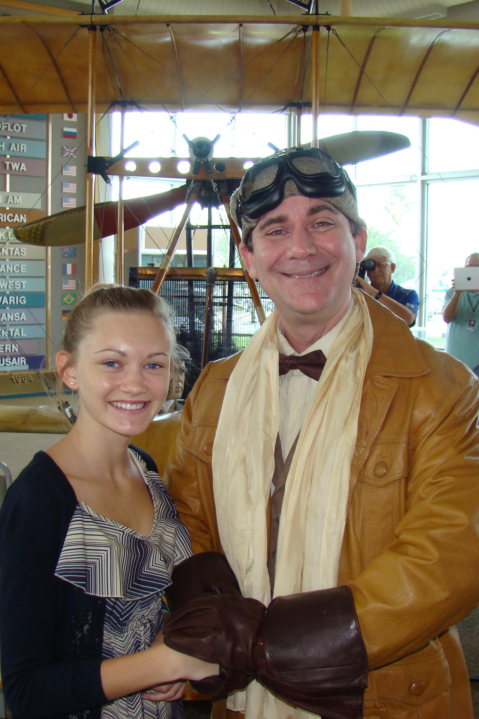 Rachael Polen & Tony Jannus; aka Michael Norton, 14 Jun '12.JPG