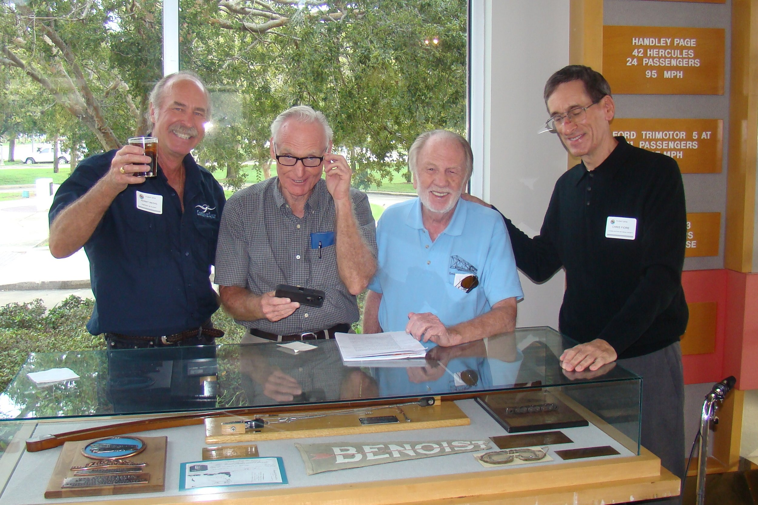 Kremit Weeks, Bill Barnes, Eric Orford, & Chris Fiore, 24 Oct '13.JPG