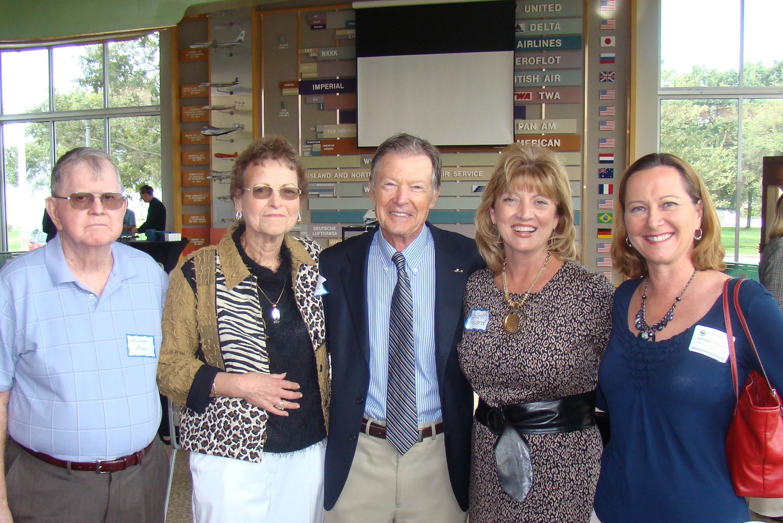 Richard Rose, Kim Michael, Al Michjada, Colleen Picard & Michele Routh - 1, 24 Oct '13.JPG