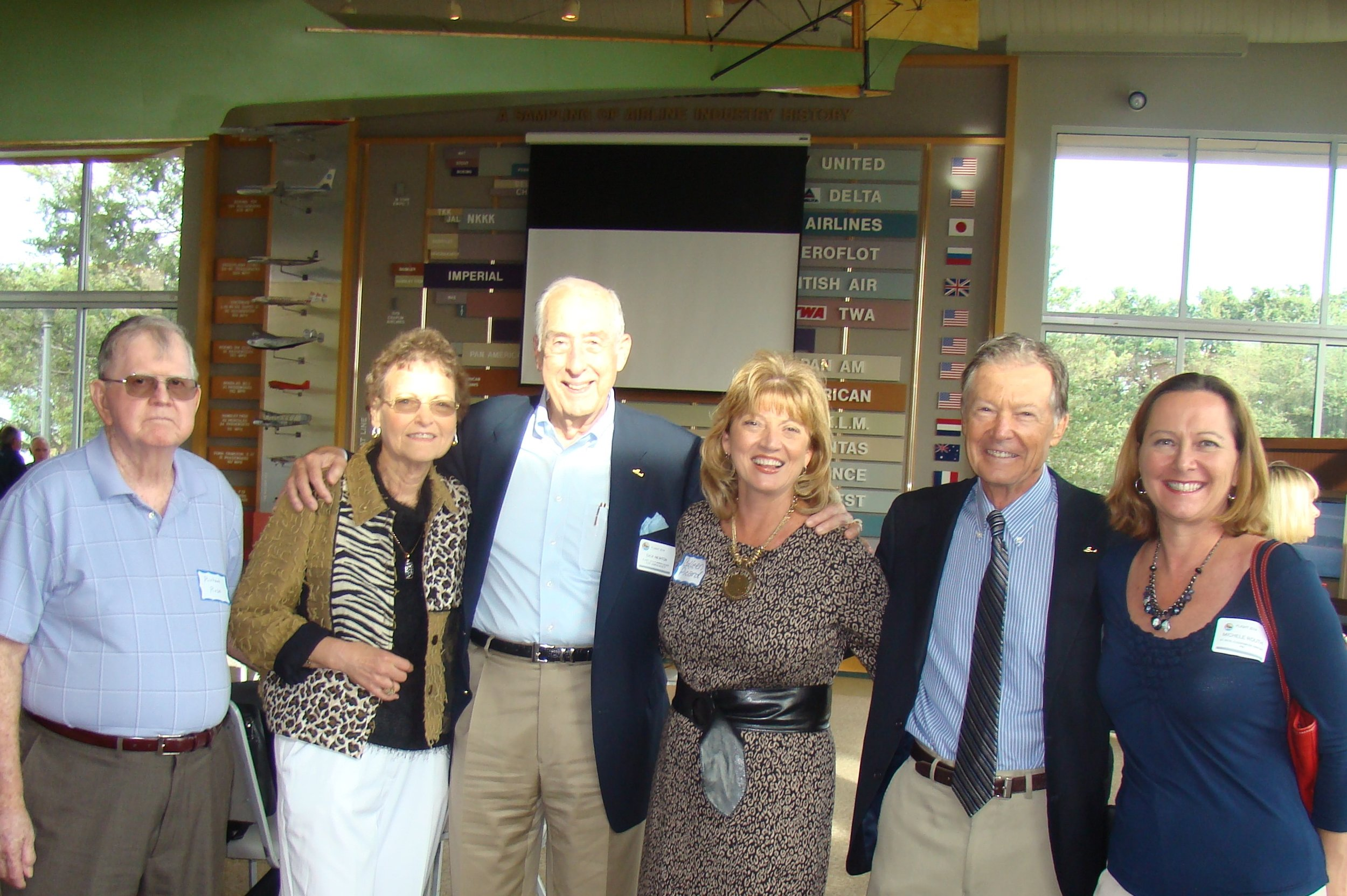 Richard Rose, Kim Michael, Dick Newton, Colleen Picard, Al Michejda & Michele Routh - 1, 24 Oct '13.JPG