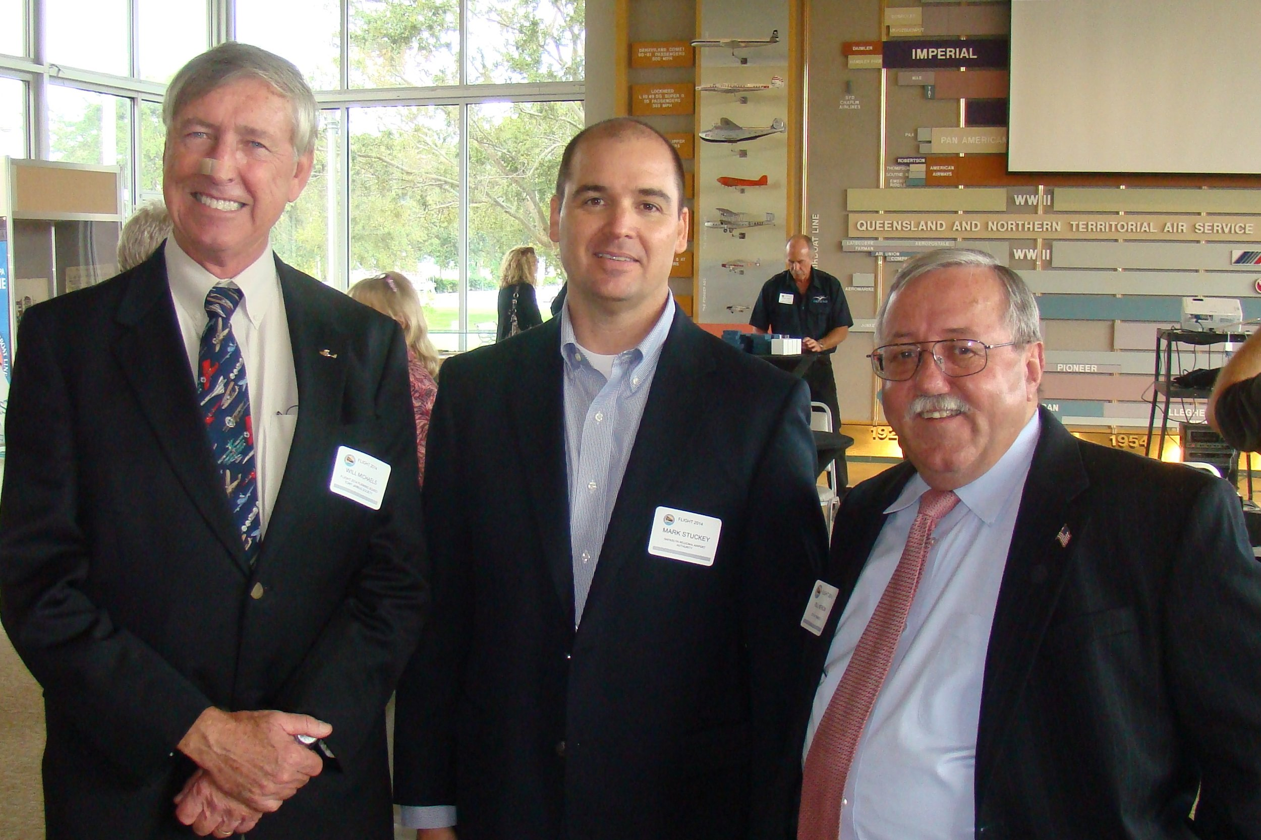 Will Michaels, Mark Stuckey & Bill Neron, 24 Oct '13.JPG
