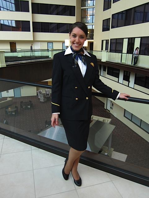 Kelly Dahl at Graduation from United Airline Flight Attendant Training, 8 Mar '12.jpg