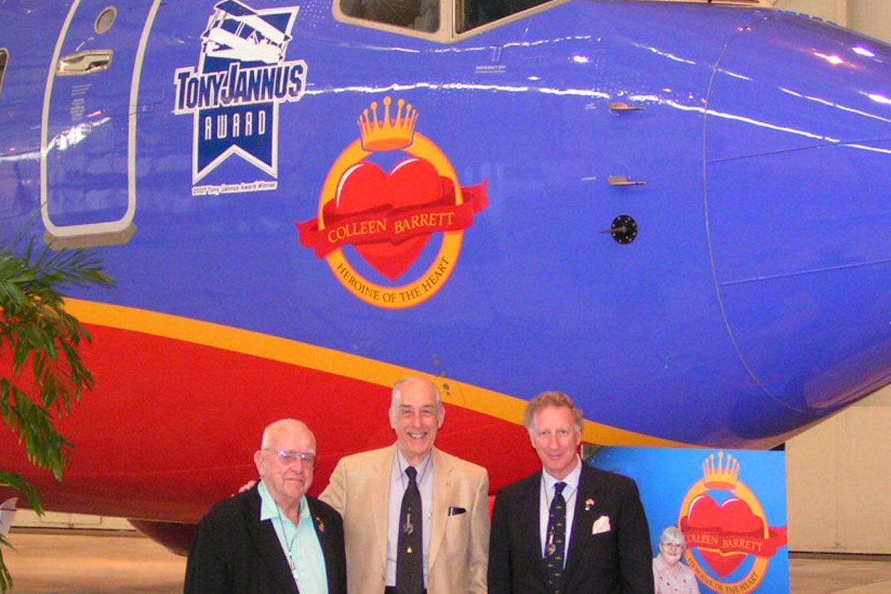 Bob Cutler, Dick Newton, & Colin Howgill - closeup, 4 Apr '07.jpg