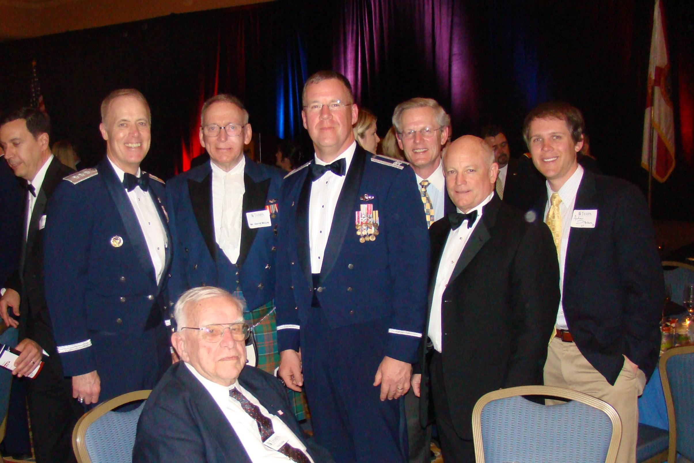 Dick, David McLay, Larry Martin, Steve Dillenburg, Ned Hance, & Andrew D. with Bob Cutler, 16 Feb '10.JPG