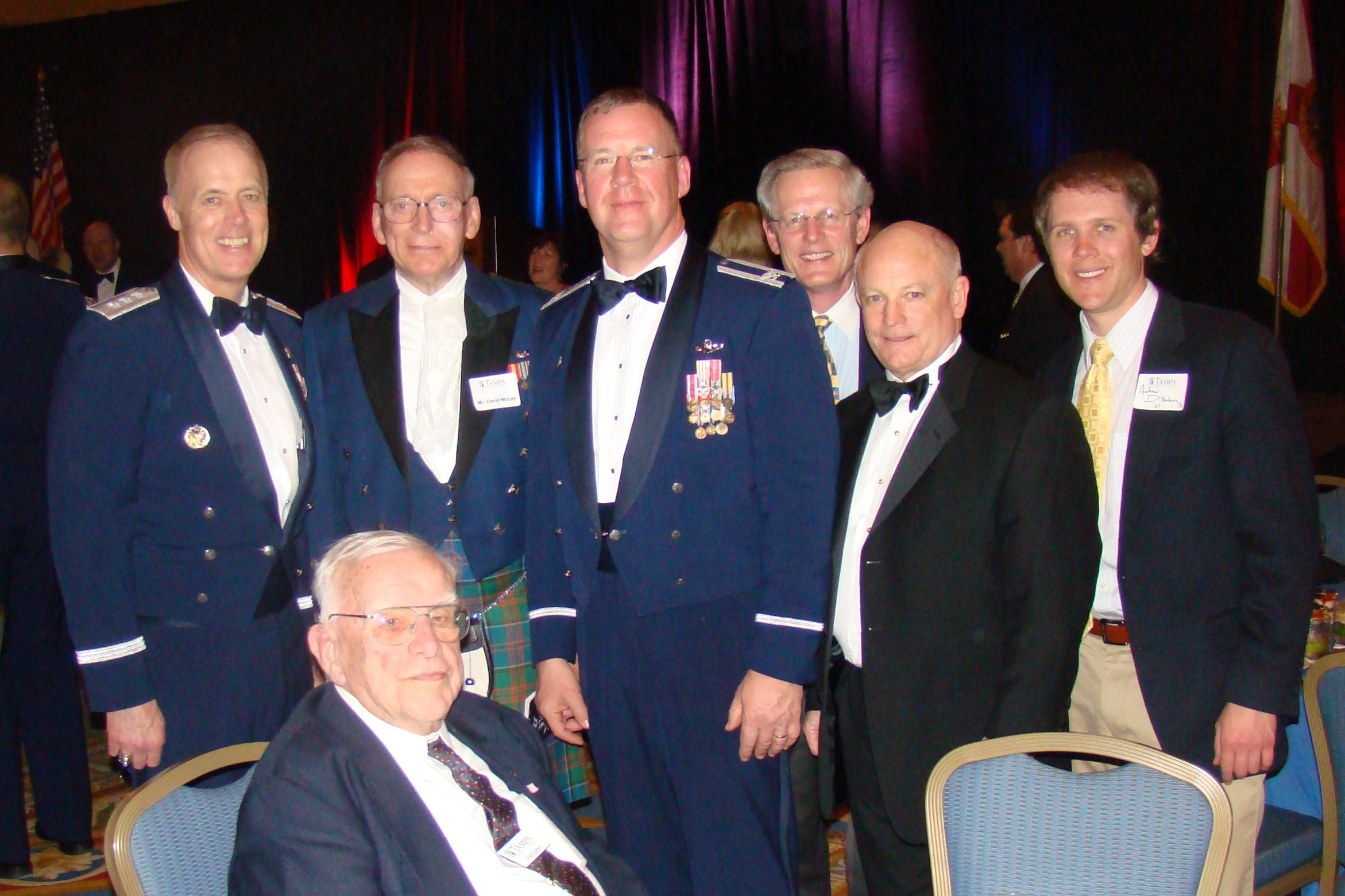 Dick, David McLay, Larry Martin, Steve Dillengurg, Ned Hance, & Andrew D. with Bob Cutler - 1, 16 Feb '10.JPG