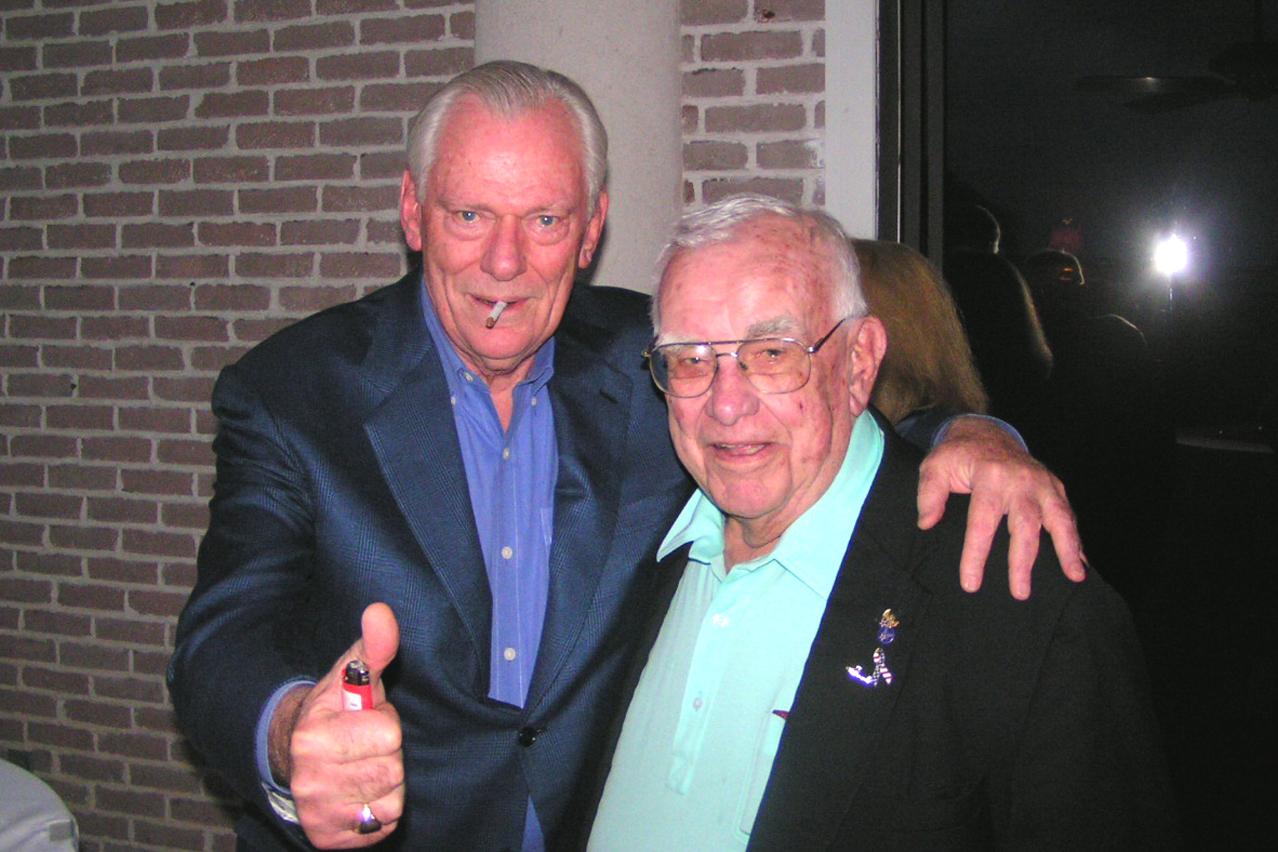 Herbert D. Kelleher & Bob Cutler @ VIP Receptoin, 24 Oct '07.jpg