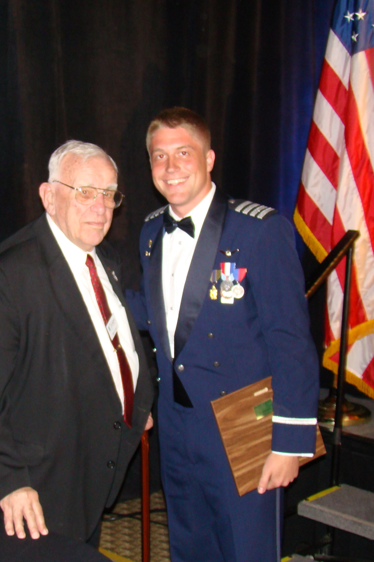Mr. Bob Cutler, Tampa COC, and James Leenman, 2 Apr '09.jpg