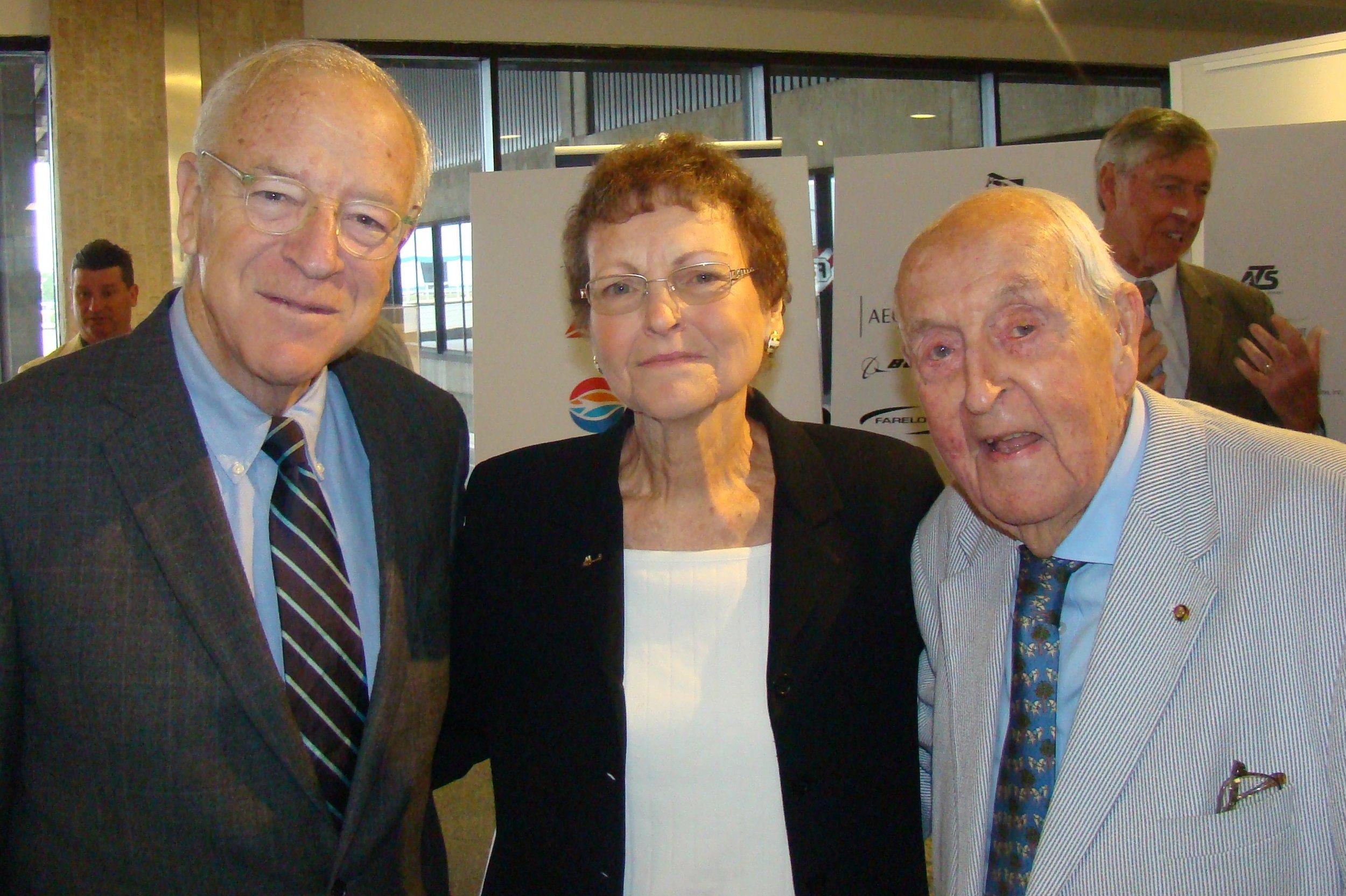 Bronson Thayer, Kim Michael & Sir Lenox Hewitt - 2, 15 Nov '13.JPG