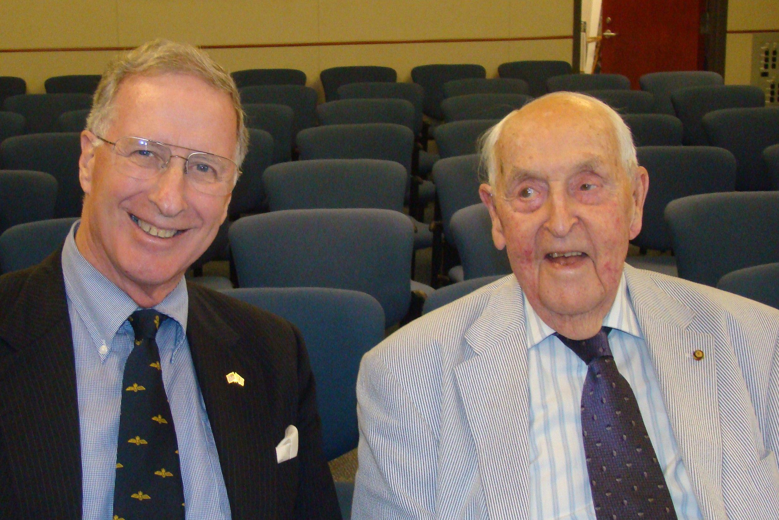 Colin Howgill & Sir Lenox, 27 Oct '11.JPG