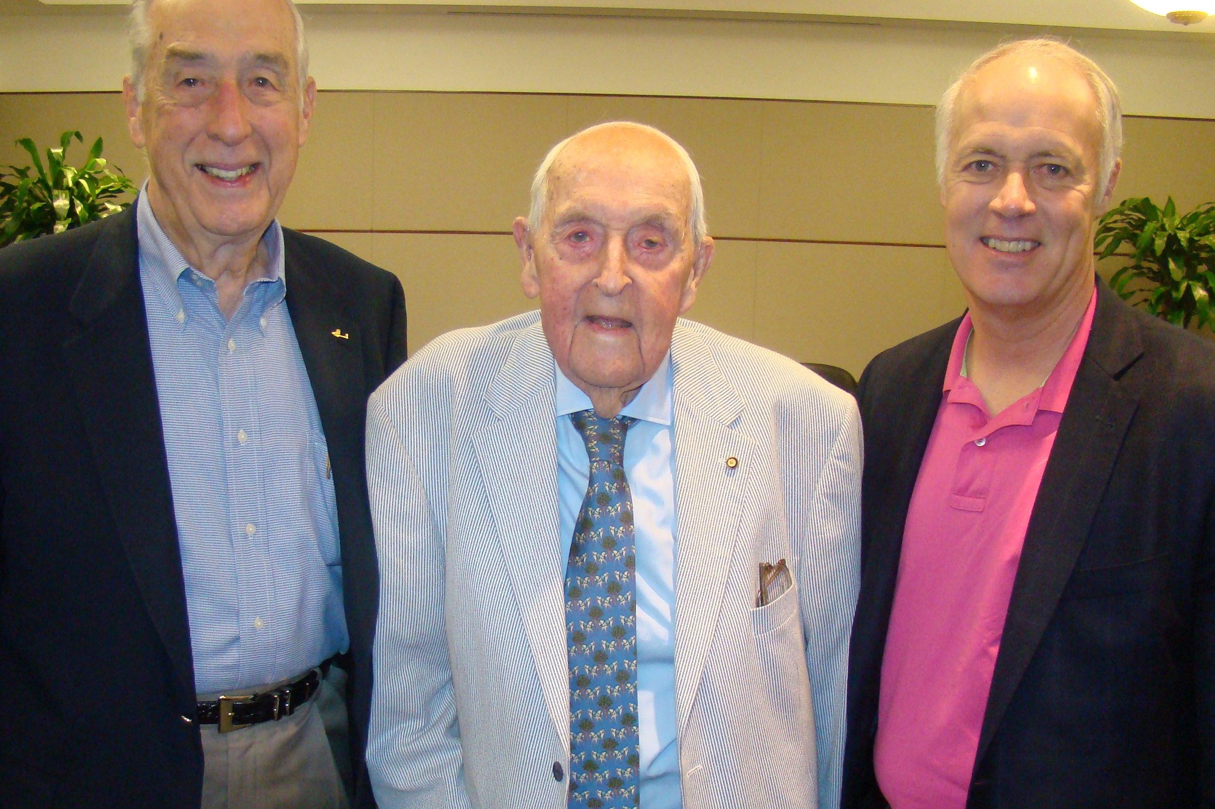 Me, Sir Lenox Hewitt & Dick, 15 Nov '13.JPG