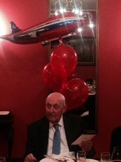 Sir Lennox celebratimg 99th Birthday at Union Club, Sidney - 1, 7 May '16.jpg