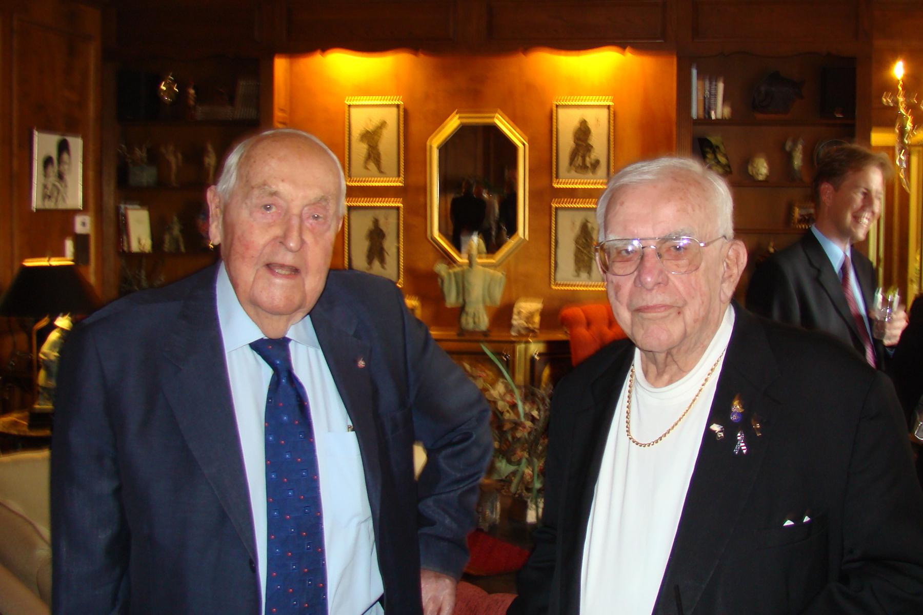 Sir Lennox Hewitt & Bob Cutler - 1, 29 Oct '08.jpg