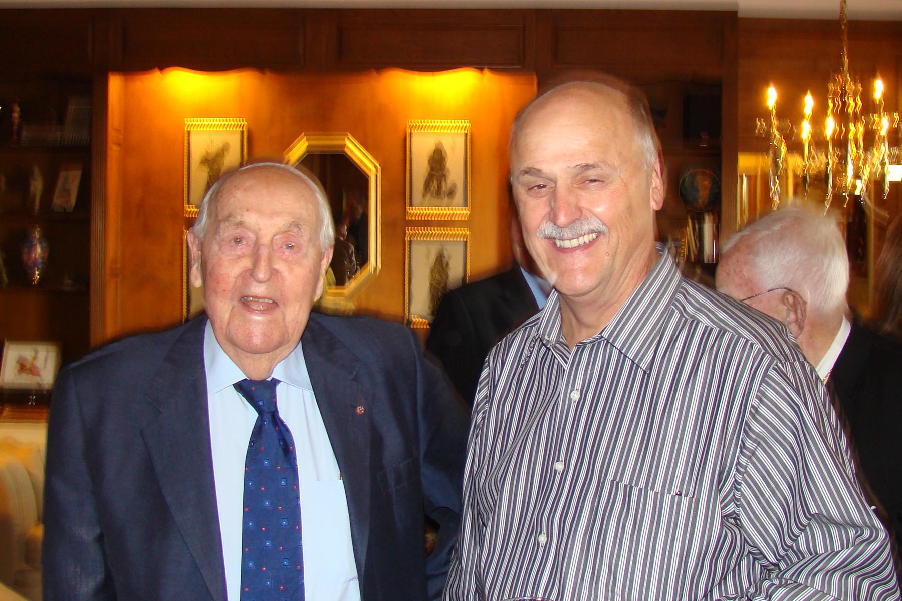 Sir Lennox Hewitt & Rich Lisser, 29 Oct '08.jpg