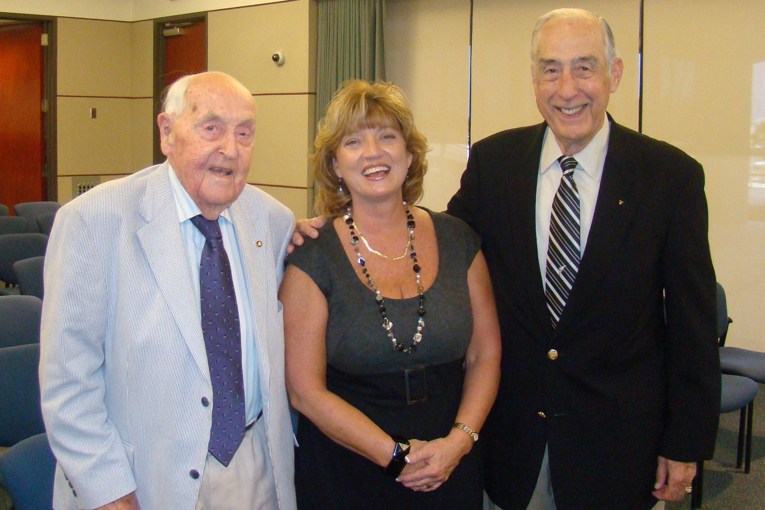 Sir Lenox, Colleen Picard & Dick Newton - 1, 27 Oct '11.JPG