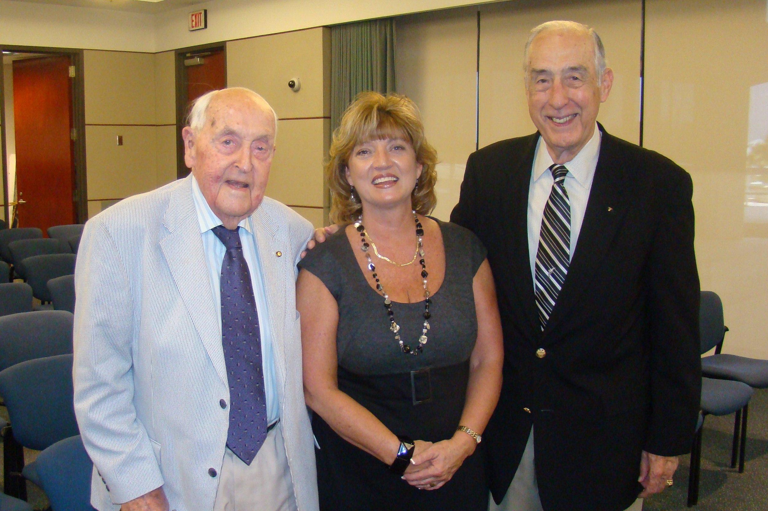 Sir Lenox, Colleen Picard & Dick Newton - 2, 27 Oct '11.JPG