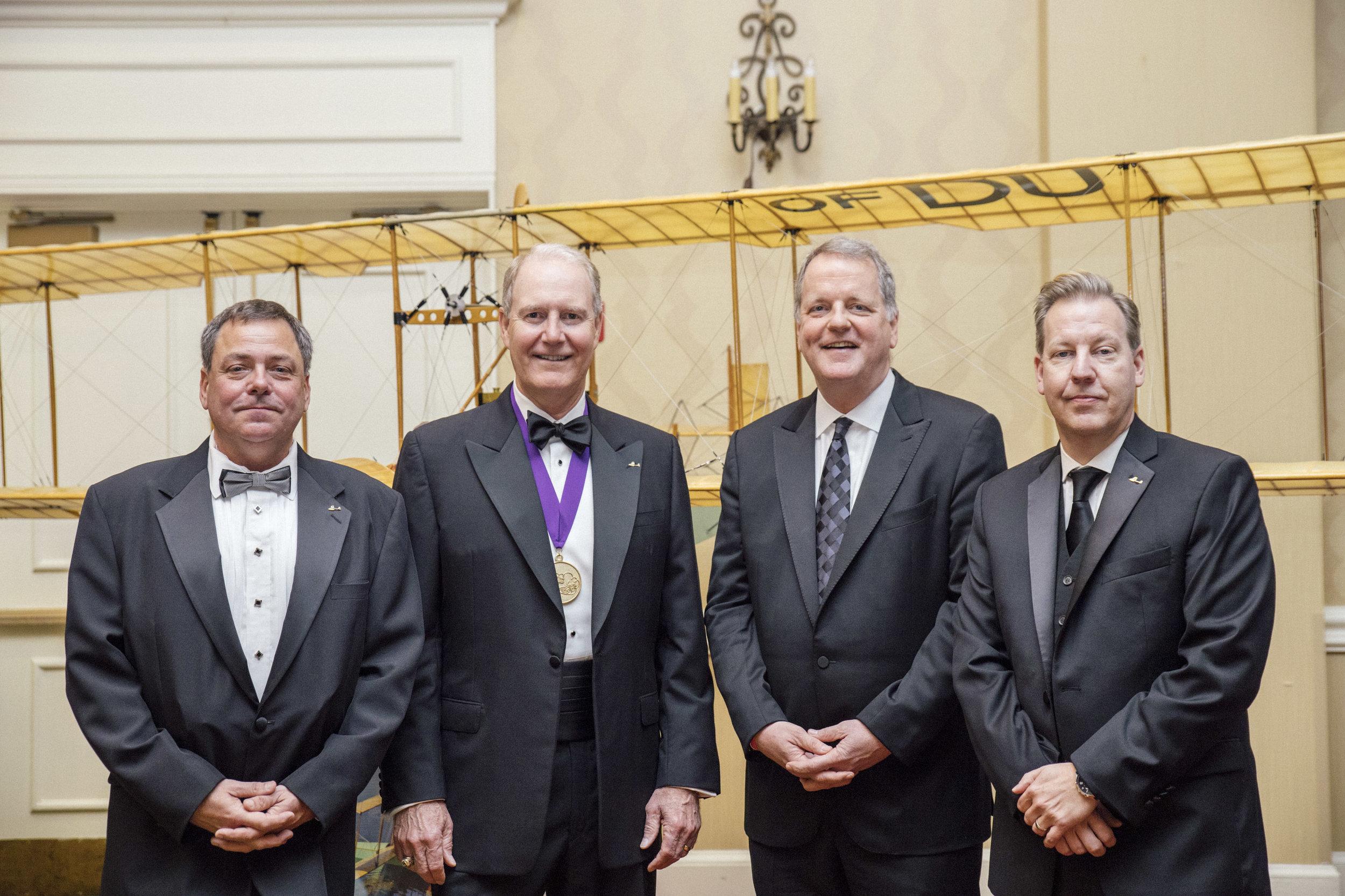Paul Piro, Gary Kelly, Doug Parker, and Patrick Harrison