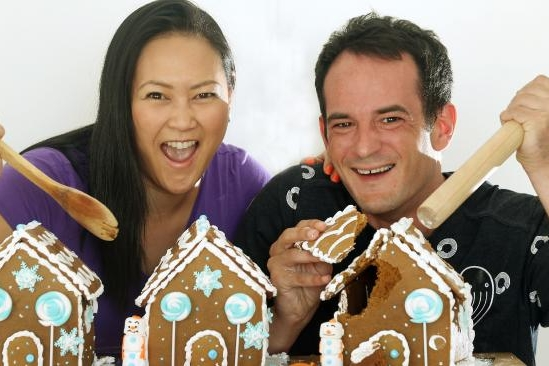 Herald Sun - Glen Iris couple host Gingerbread Demolition to raise money for Save the Children -