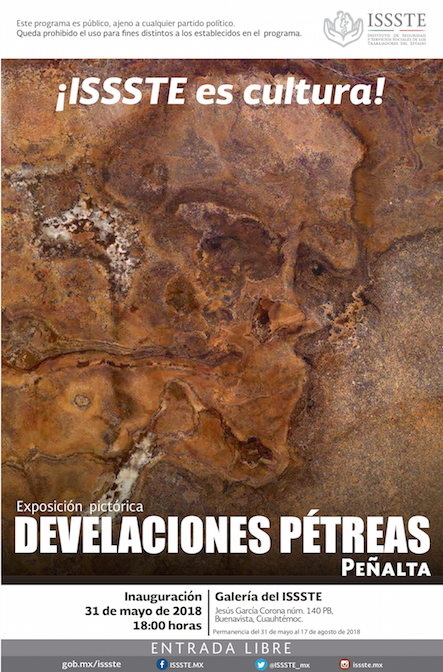 Develaciones Pétreas. Exposición pictórica de Peñalta. Mayo 2018
