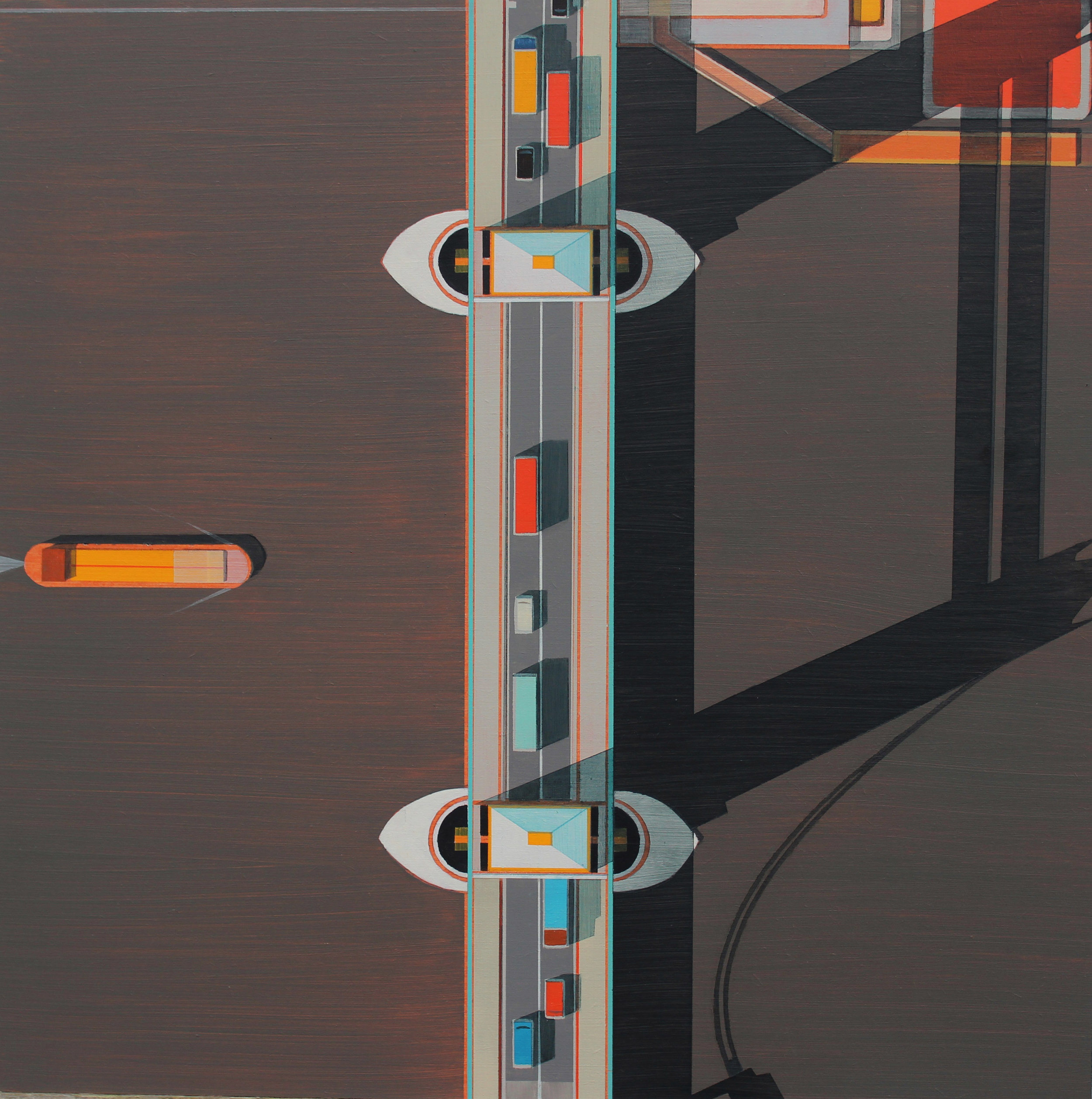 WEB-Tower-Bridge-and-yellow-barge-2017-acrylic-on-board-45x45-cm.jpg