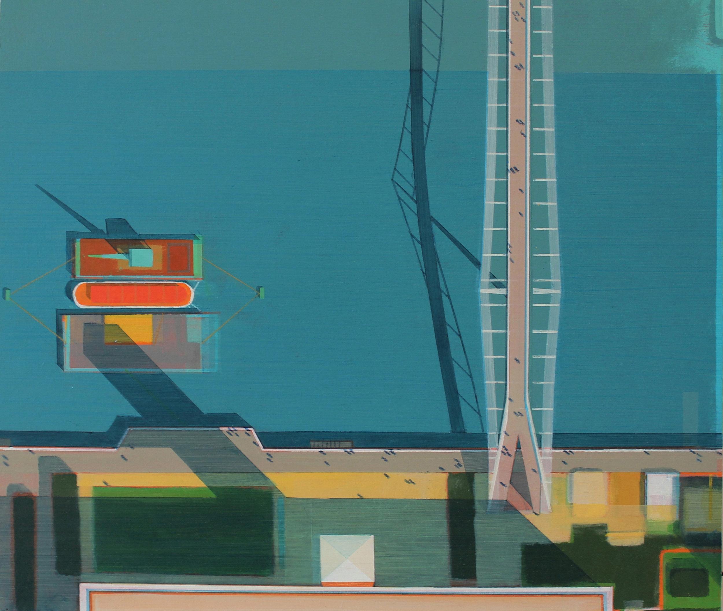 Millenium Bridge and Tate Modern.