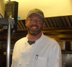Chef Mike is our back of the house master that joined the krista's family in 2011. since then he and the rest of us have never looked back. thankfully for all of us, he attended Johnson & Wales and worked in a variety of restaurants in Boston & throughout New England...and consequently knows what he's doing which is amazing for all of us! Chef helped shift krista's to a different level with new menu items, wide use of local produce and meats... and of course the amazing dinner specials you are all familiar with. when he's not in his basement den of creativity at krista's or working the line, he's home with his family, doing home renovations or out in his kayak, in a secret fishing spot torturing Chase, Marston and Ken with pictures of prize winning fish