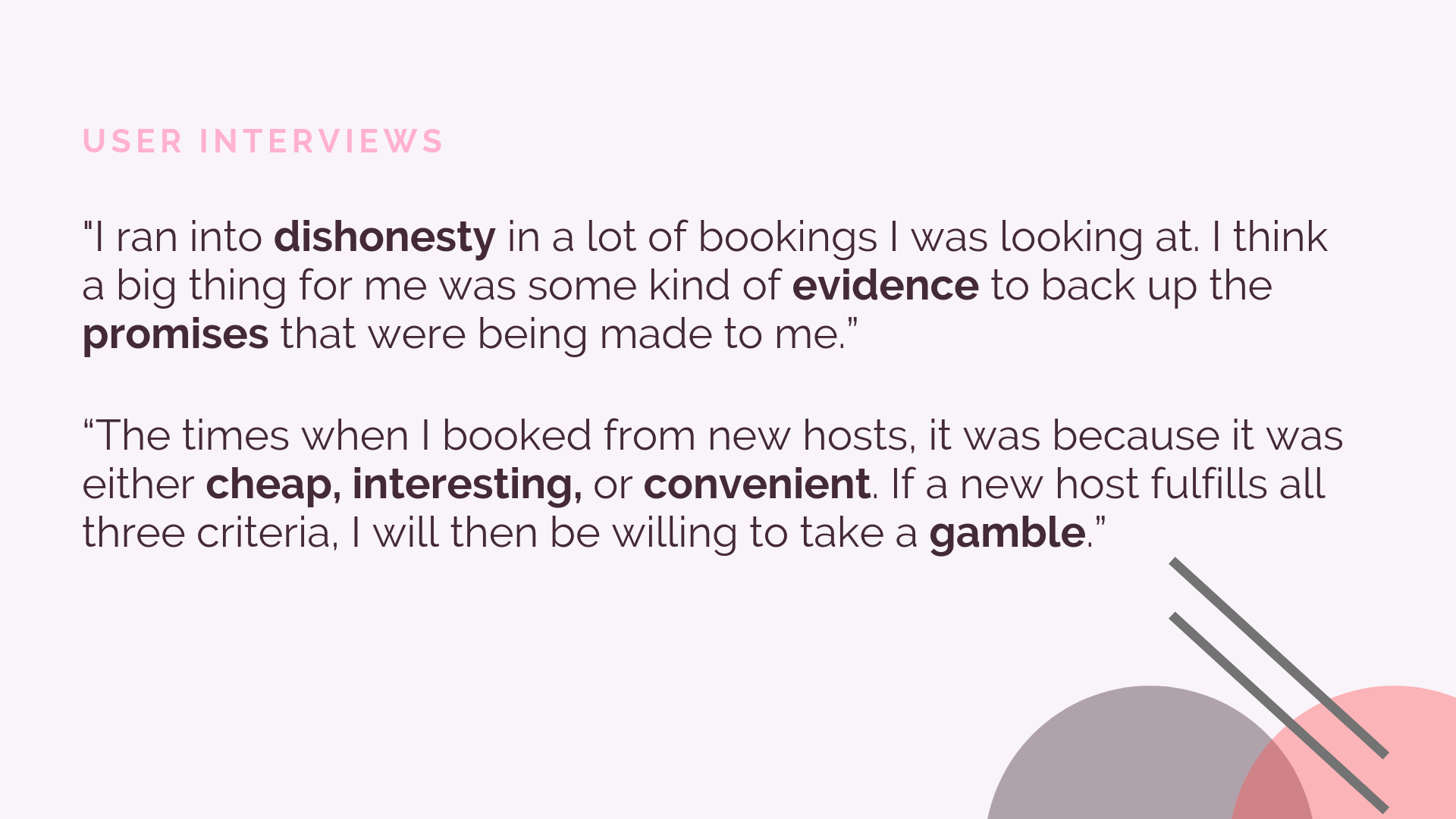 Designing Trust for Airbnb — Jasmine Teng