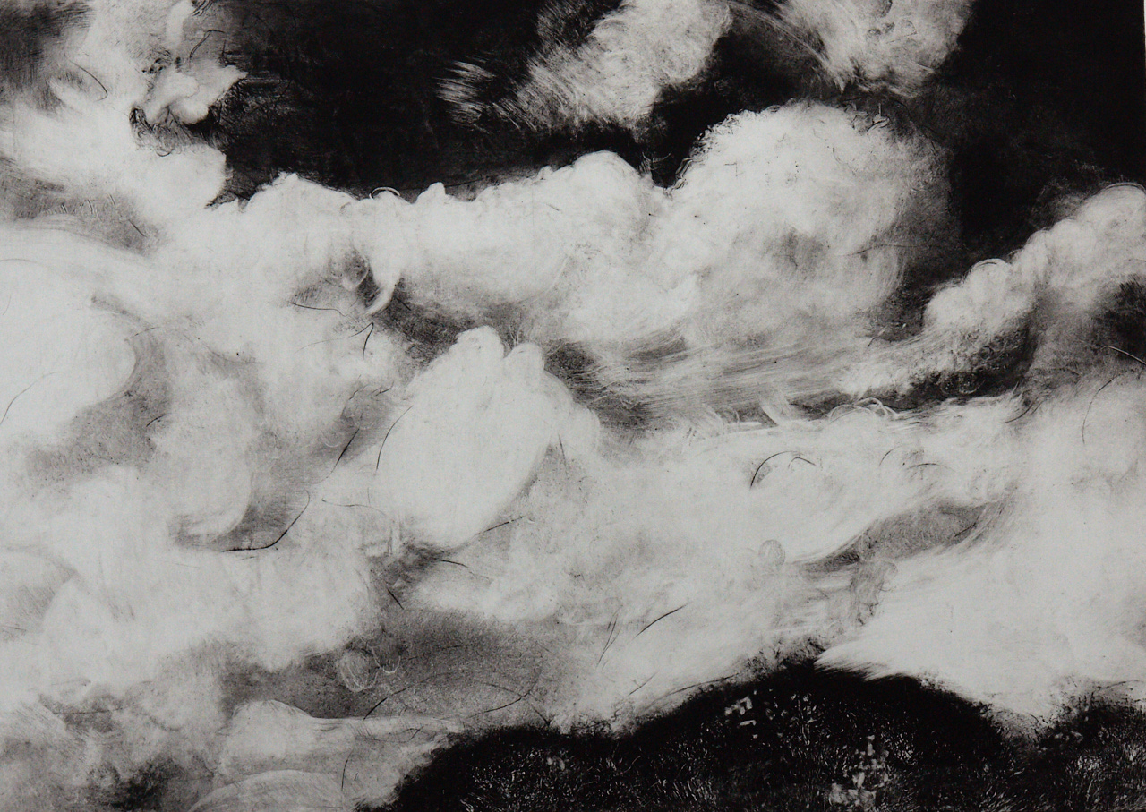 Crowd of Clouds 941 - Solar plate etching print on Hahnemuhle paper23
