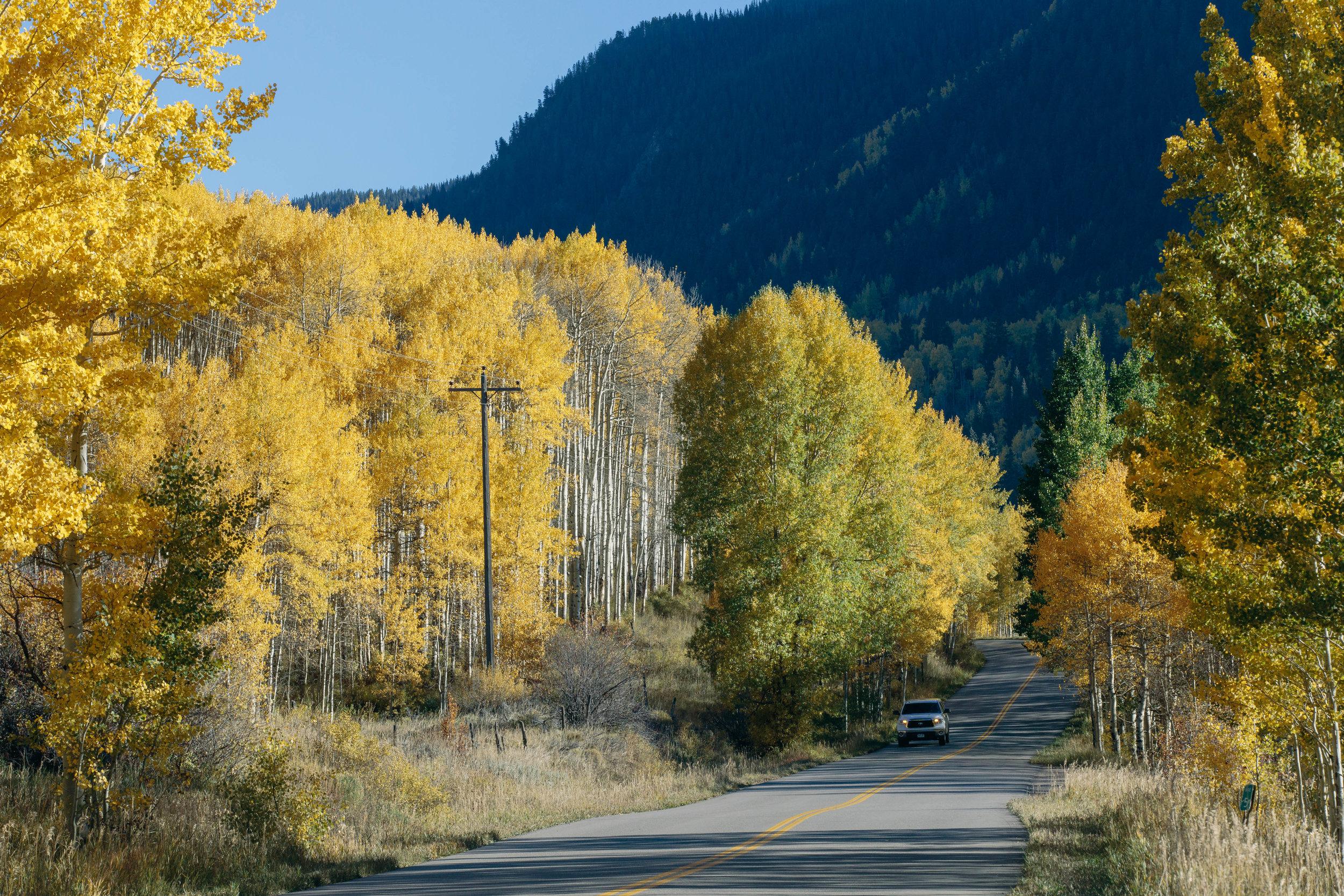 Castle Creek Road, Aspen