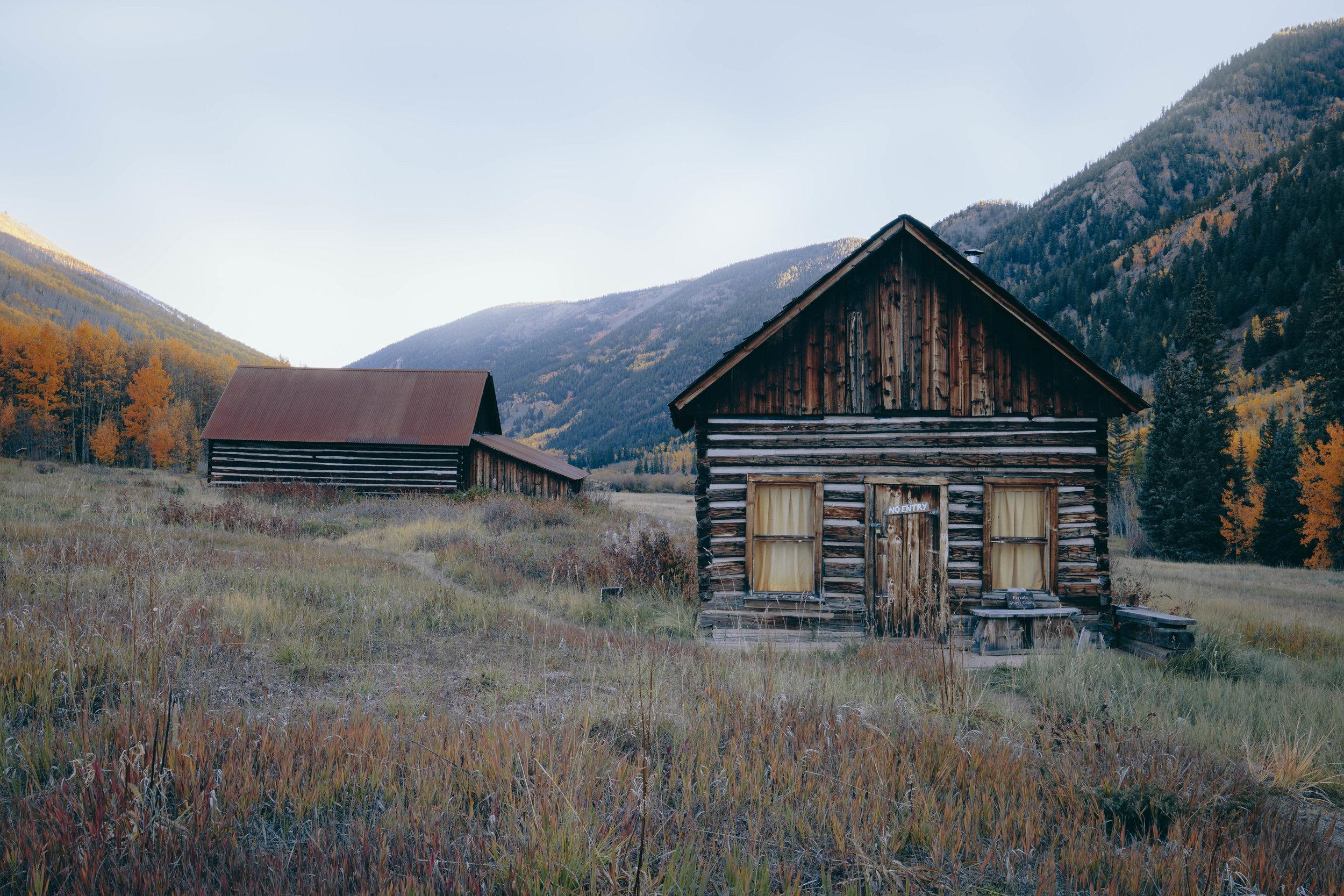 Ashcroft Ghost Town, Nr Aspen