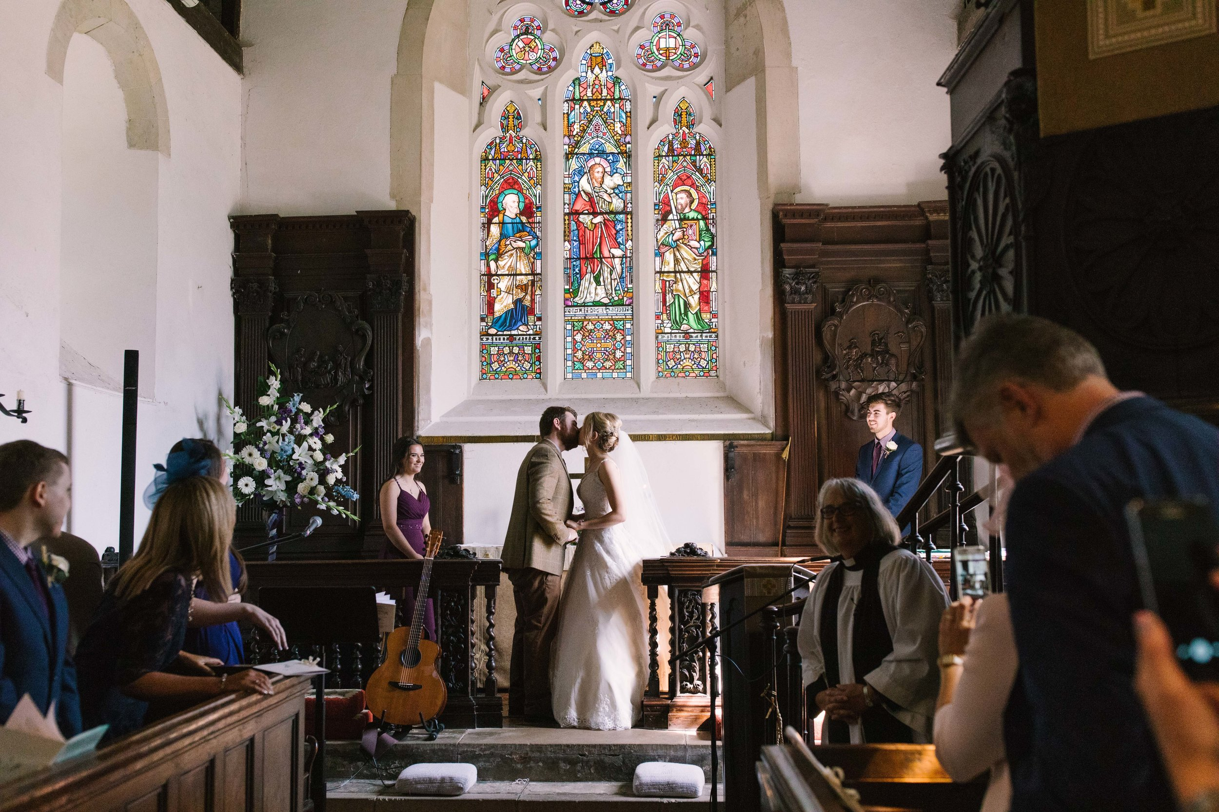 Jo & Sam Birling Woods Kent Wedding Photography-33.jpg