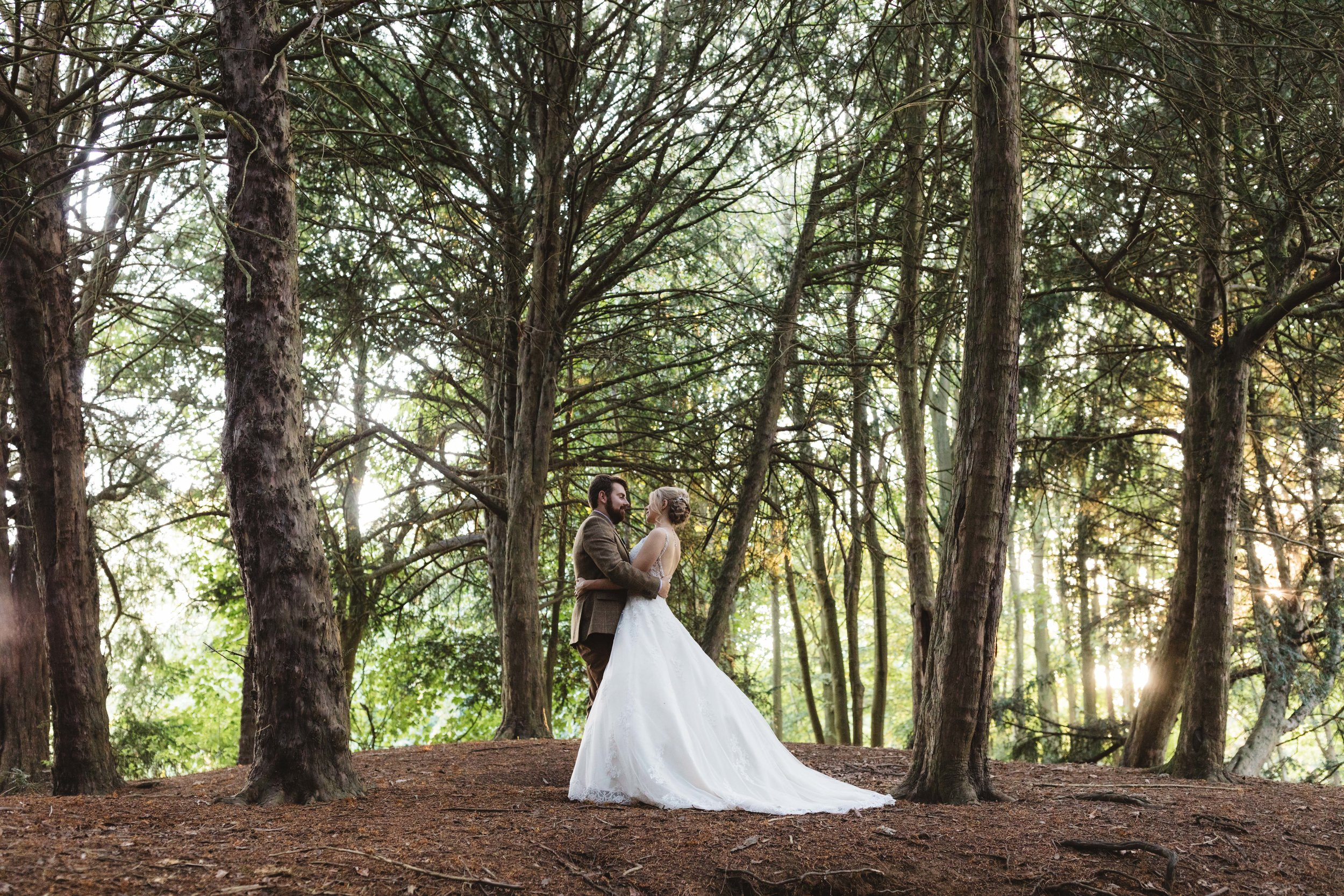 Jo & Sam Birling Woods Kent Wedding Photography-89.jpg